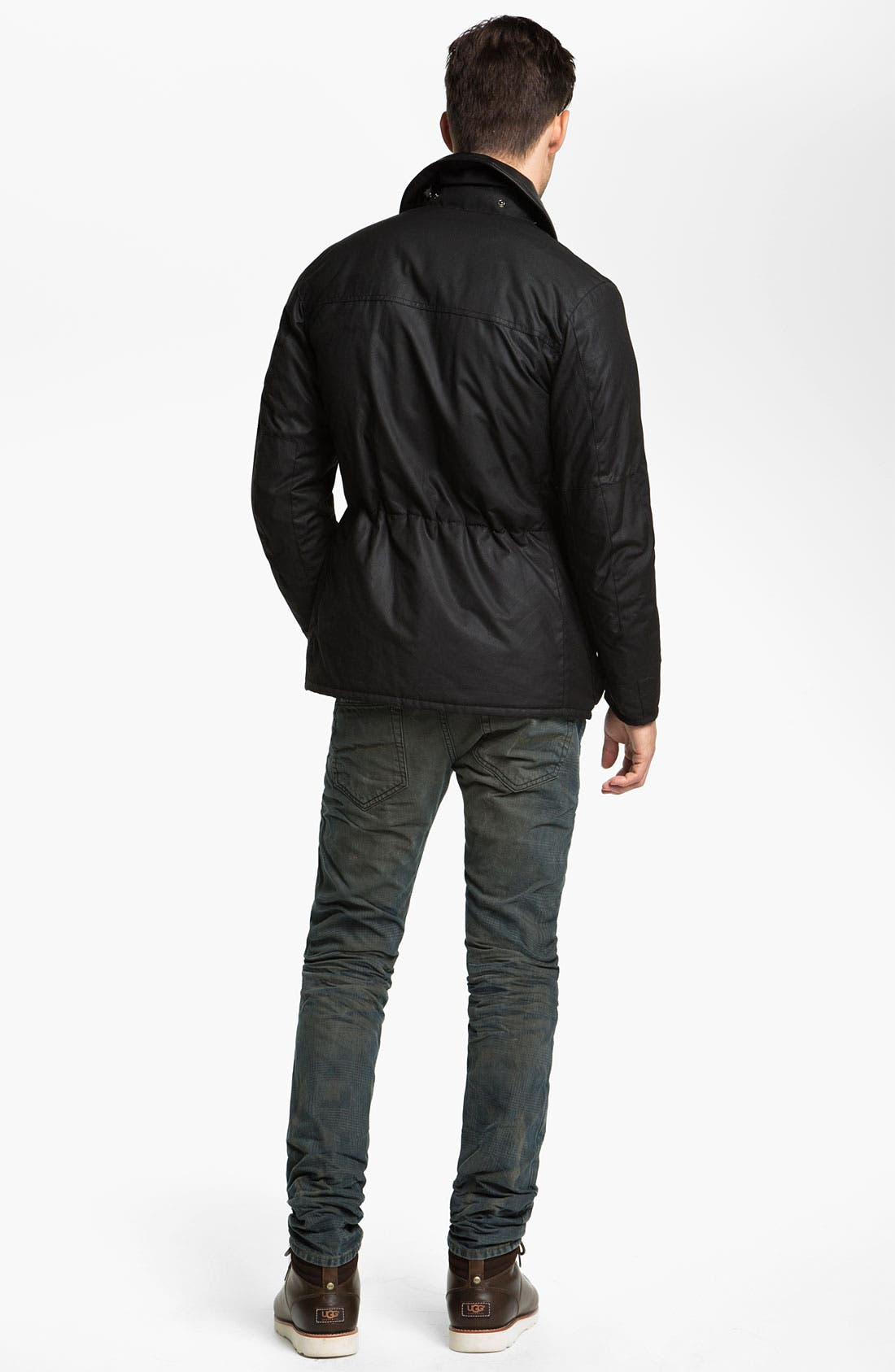 Alternate Image 5  - Barbour 'Surtees' Wax Cotton Jacket
