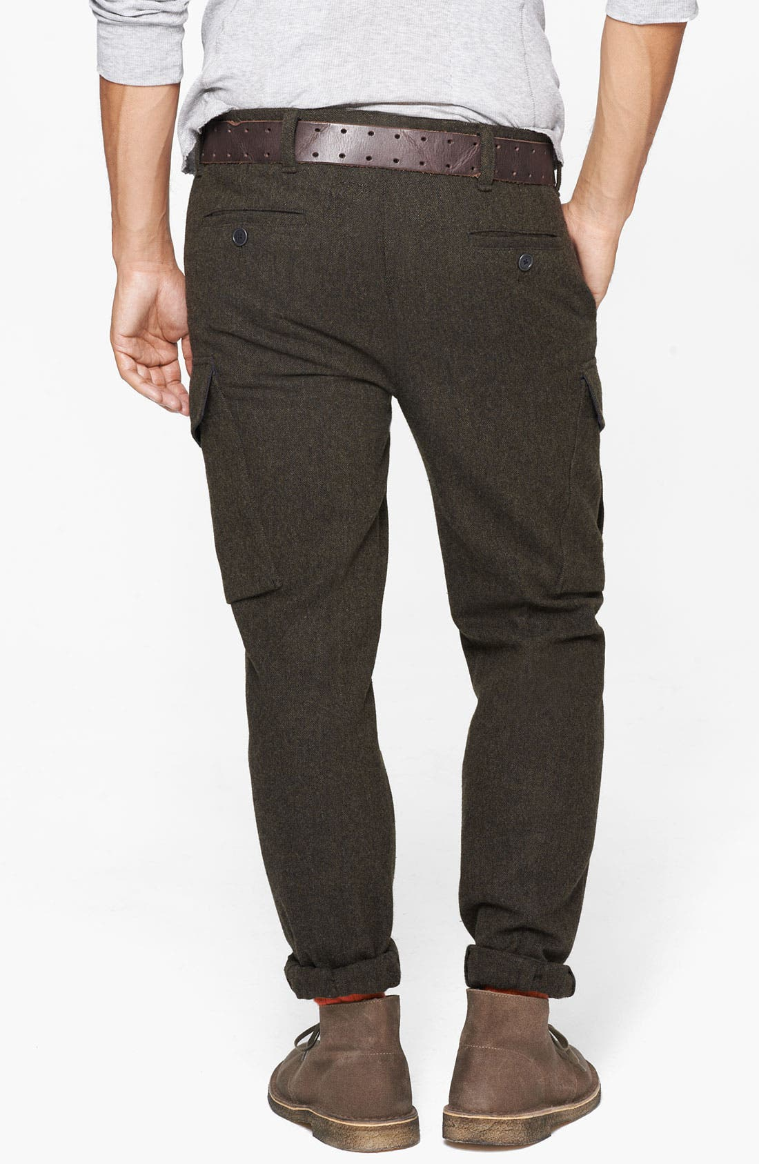 Alternate Image 2  - Todd Snyder 'Officer' Wool Cargo Pants