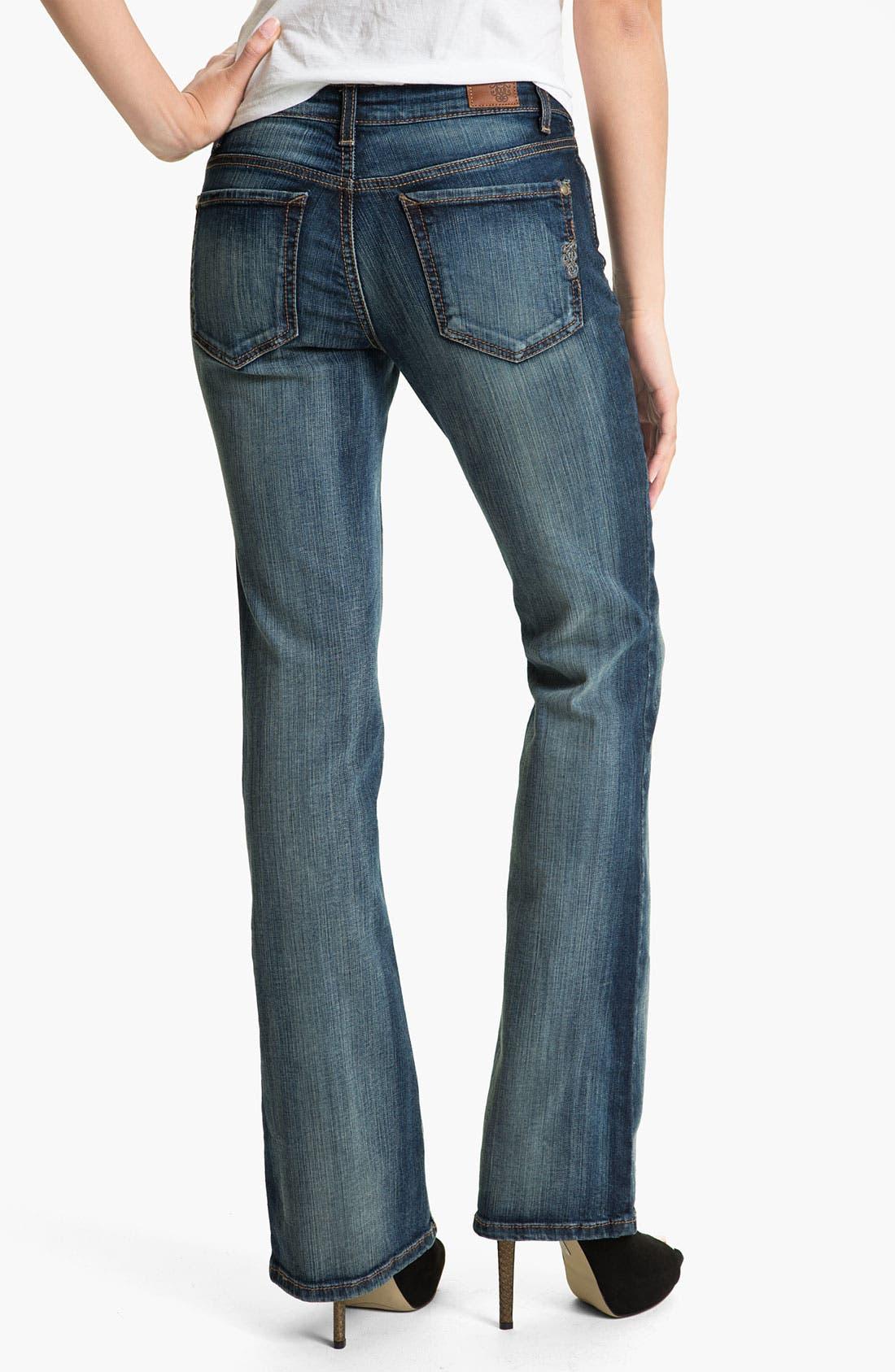 Alternate Image 2  - Jessica Simpson 'Rockin' Curvy Bootcut Jeans (Blitzen) (Online Only)