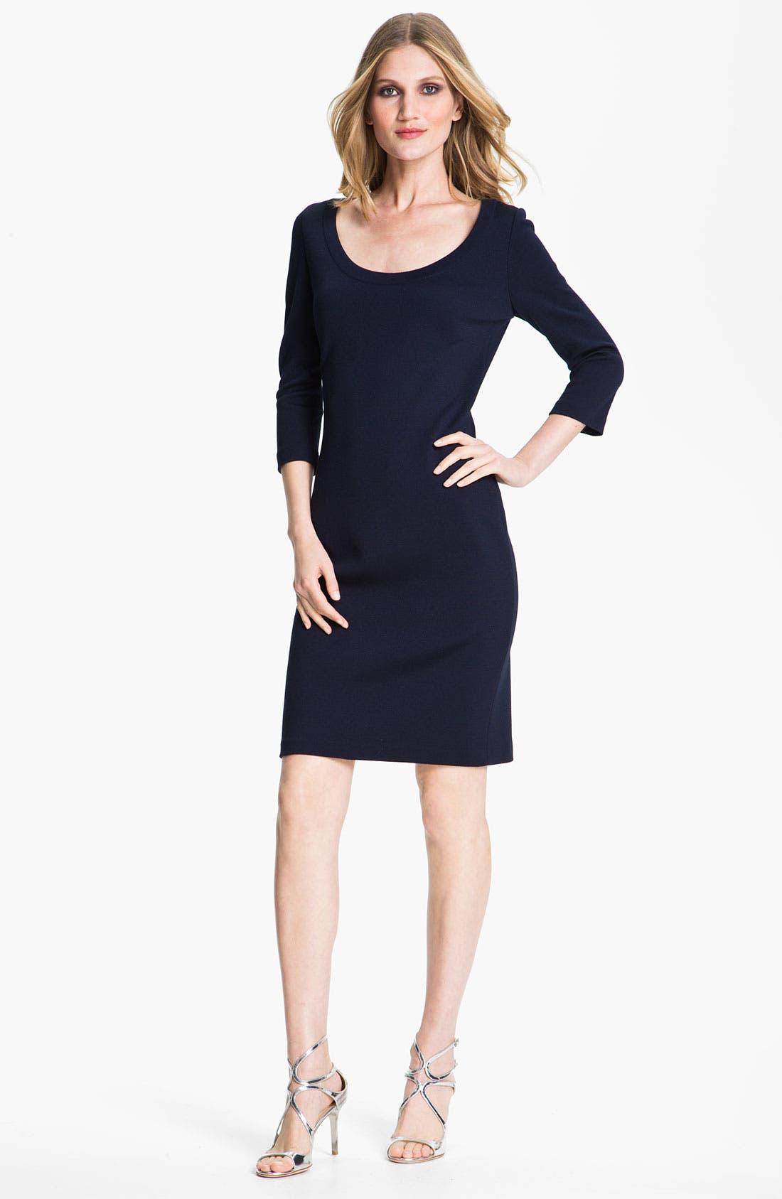 Main Image - St. John Collection Milano Knit Dress