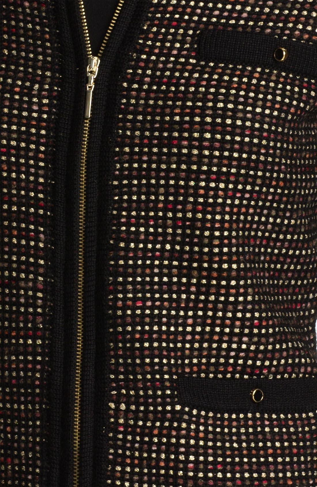 Alternate Image 3  - Ted Baker London Zip Cardigan