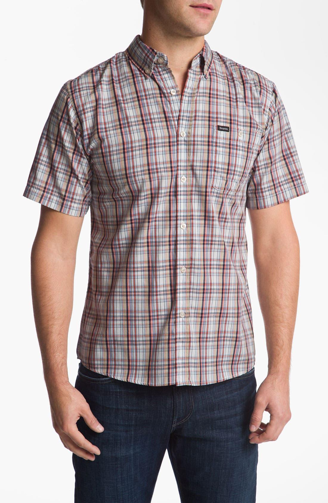 Main Image - Brixton 'Howl' Short Sleeve Woven Shirt