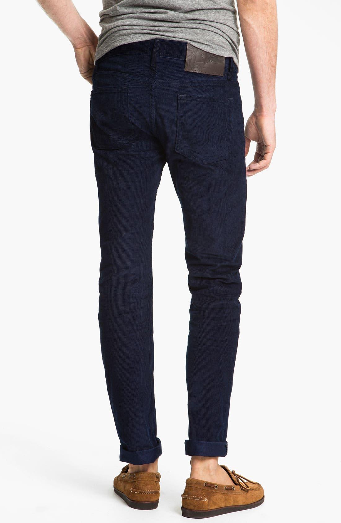 Alternate Image 1 Selected - Naked & Famous Denim 'Weird Guy' Slim Tapered Leg Corduroy Pants