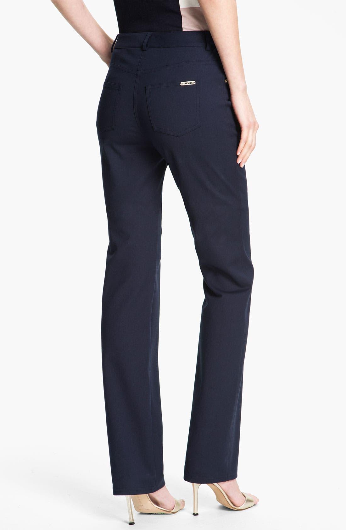 Alternate Image 2  - St. John Yellow Label 'Marie' Five Pocket Straight Leg Pants