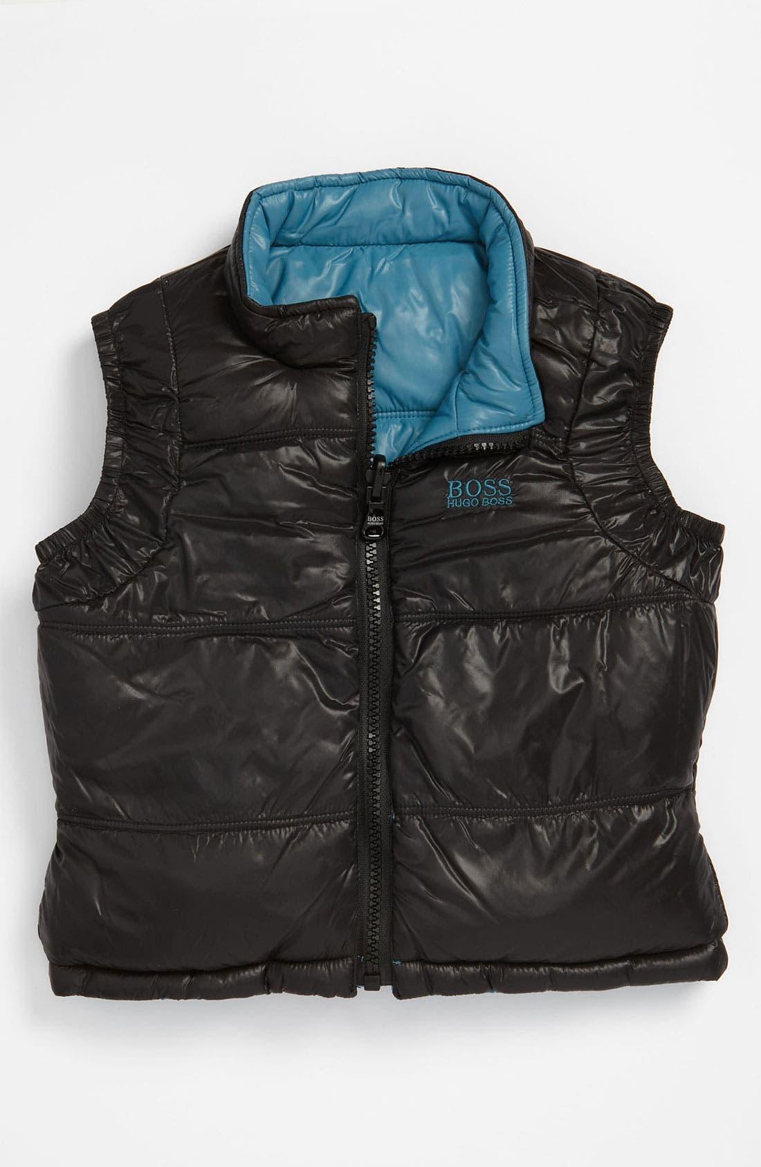 Alternate Image 2  - BOSS Kidswear Reversible Vest (Infant)