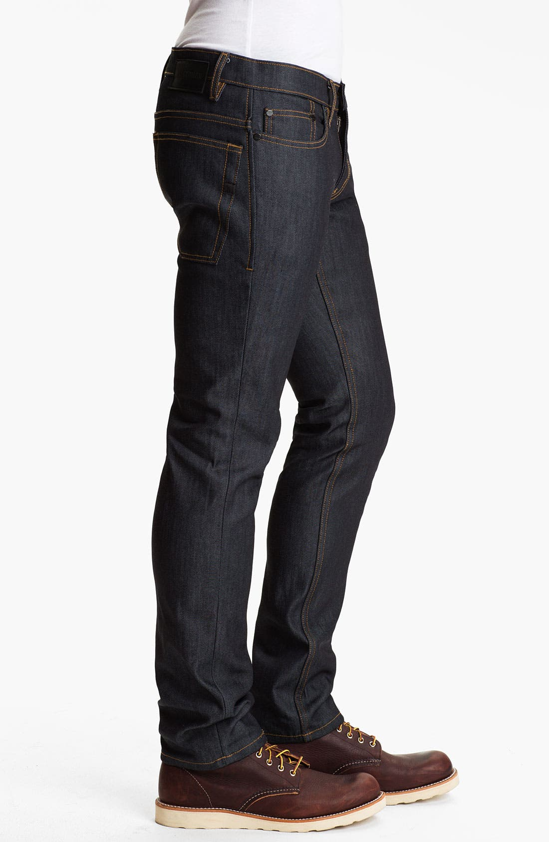 Alternate Image 3  - Comune 'Lindon' Slim Straight Leg Jeans (Dark Indigo)