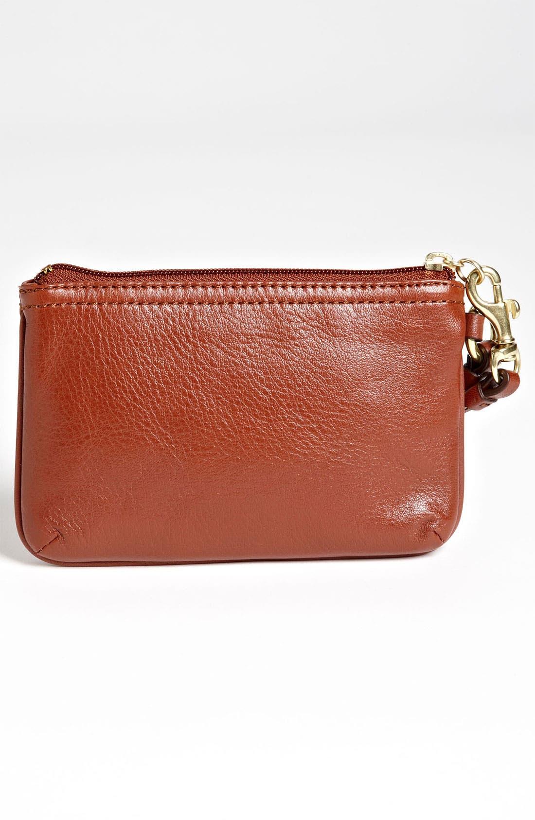 Alternate Image 4  - COACH 'Small' Leather Wristlet