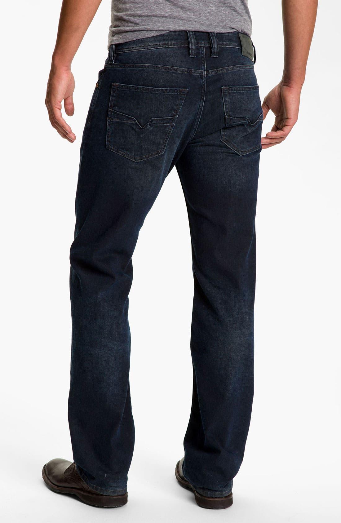 Alternate Image 1  - DIESEL® 'Larkee' Relaxed Straight Leg Jeans (882G)