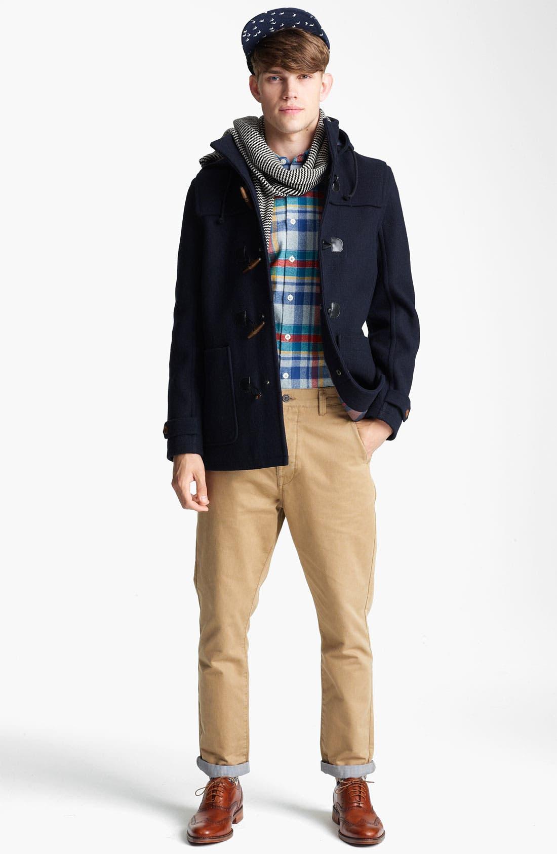 Alternate Image 4  - Topman 'Duffle' Jacket