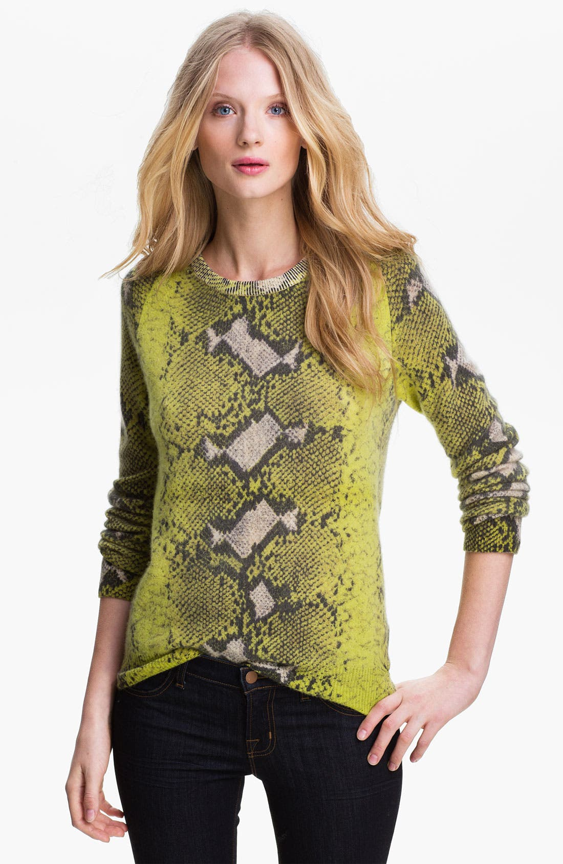 Alternate Image 1 Selected - Equipment 'Sloan' Crewneck Cashmere Sweater