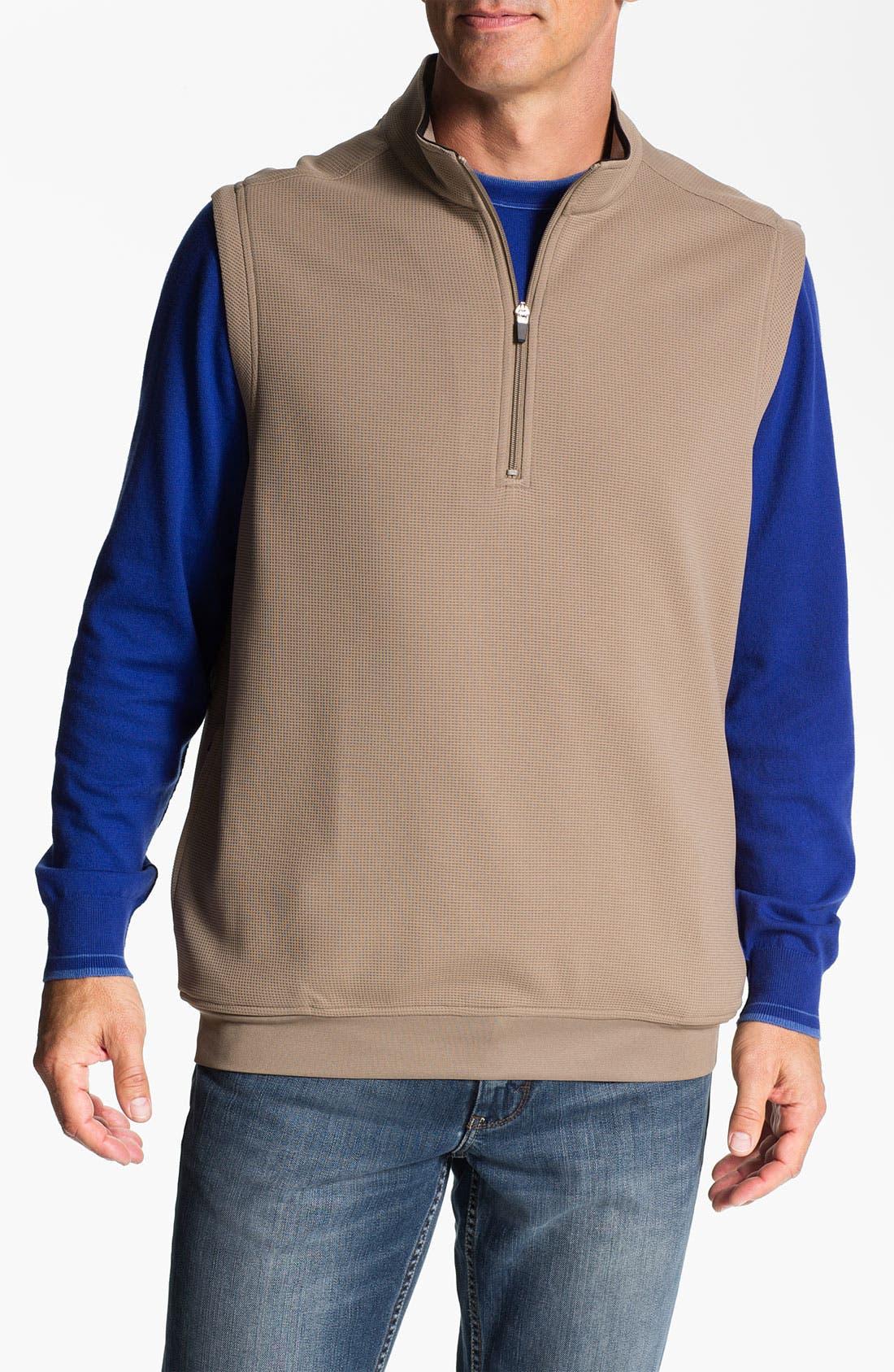 Alternate Image 1 Selected - SWC Quarter Zip Vest