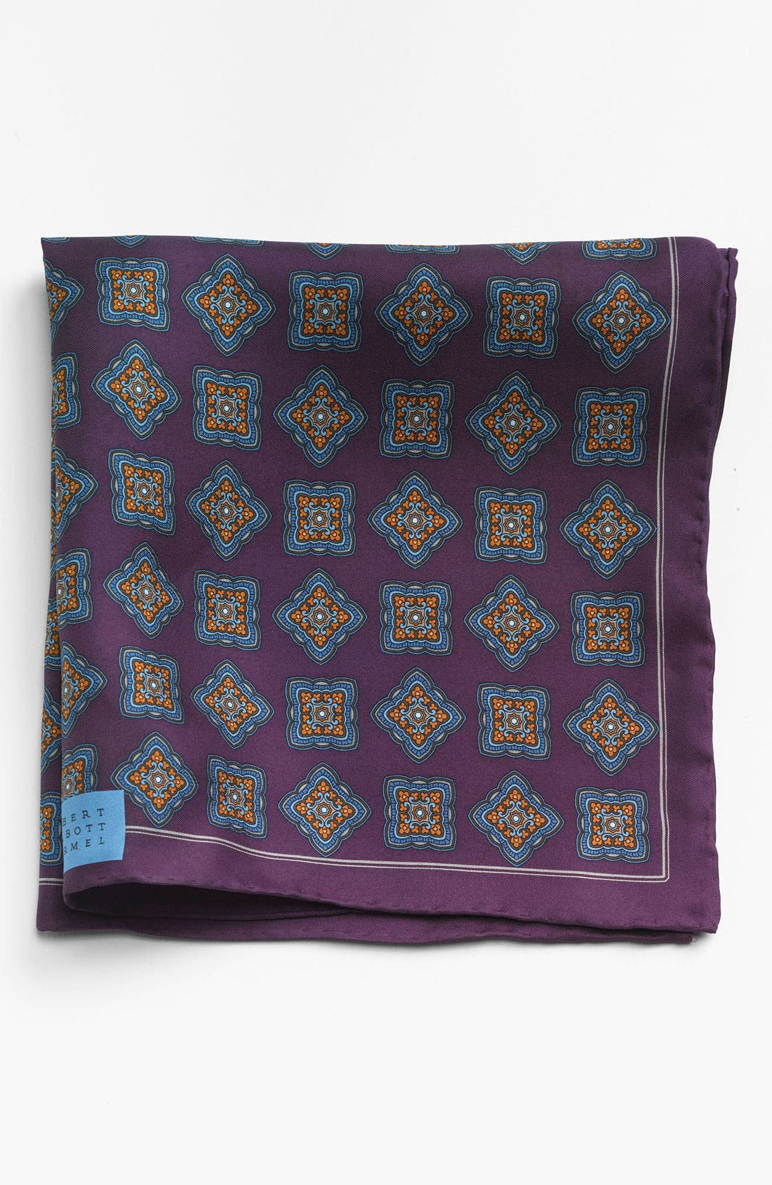 Main Image - Robert Talbott Medallion Pocket Square