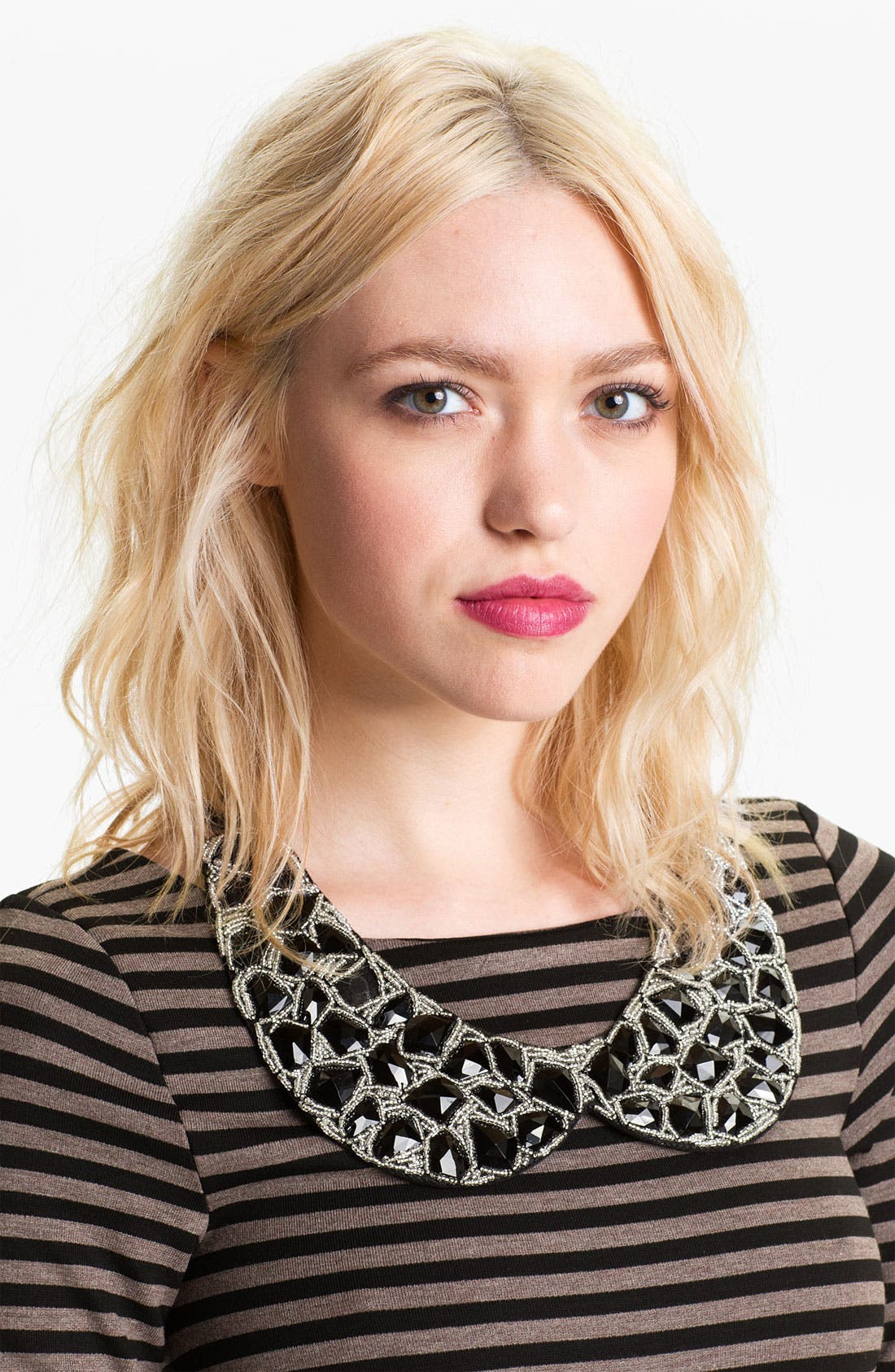 Alternate Image 1 Selected - Tasha Faceted Stone Collar