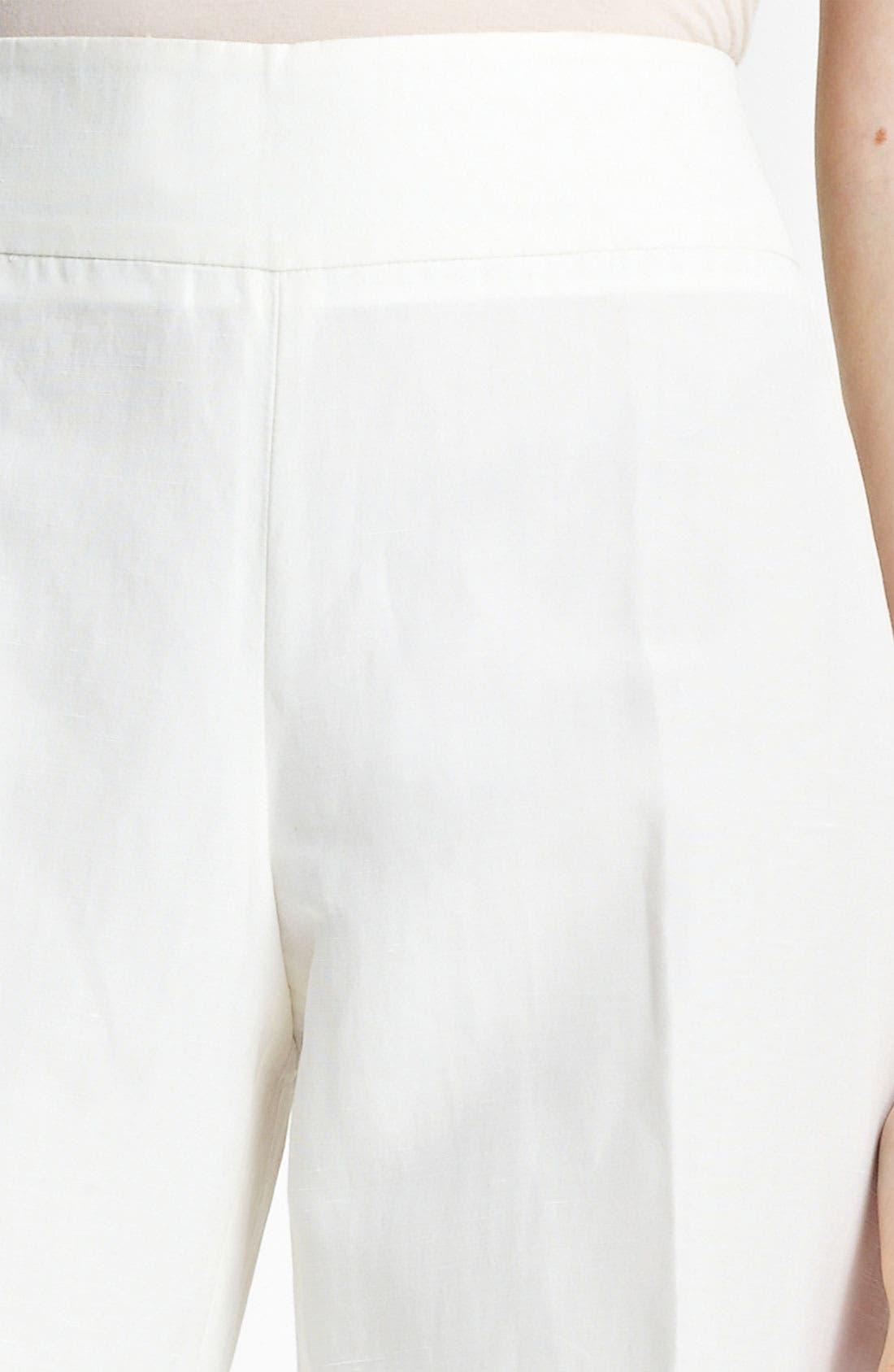 Alternate Image 3  - Armani Collezioni Wide Leg Pants