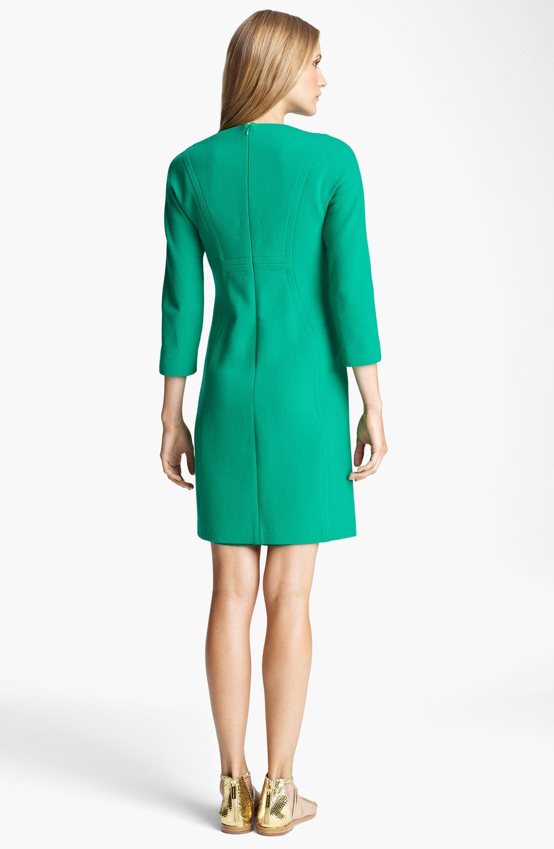 Alternate Image 2  - Michael Kors Bouclé Crepe Shift Dress