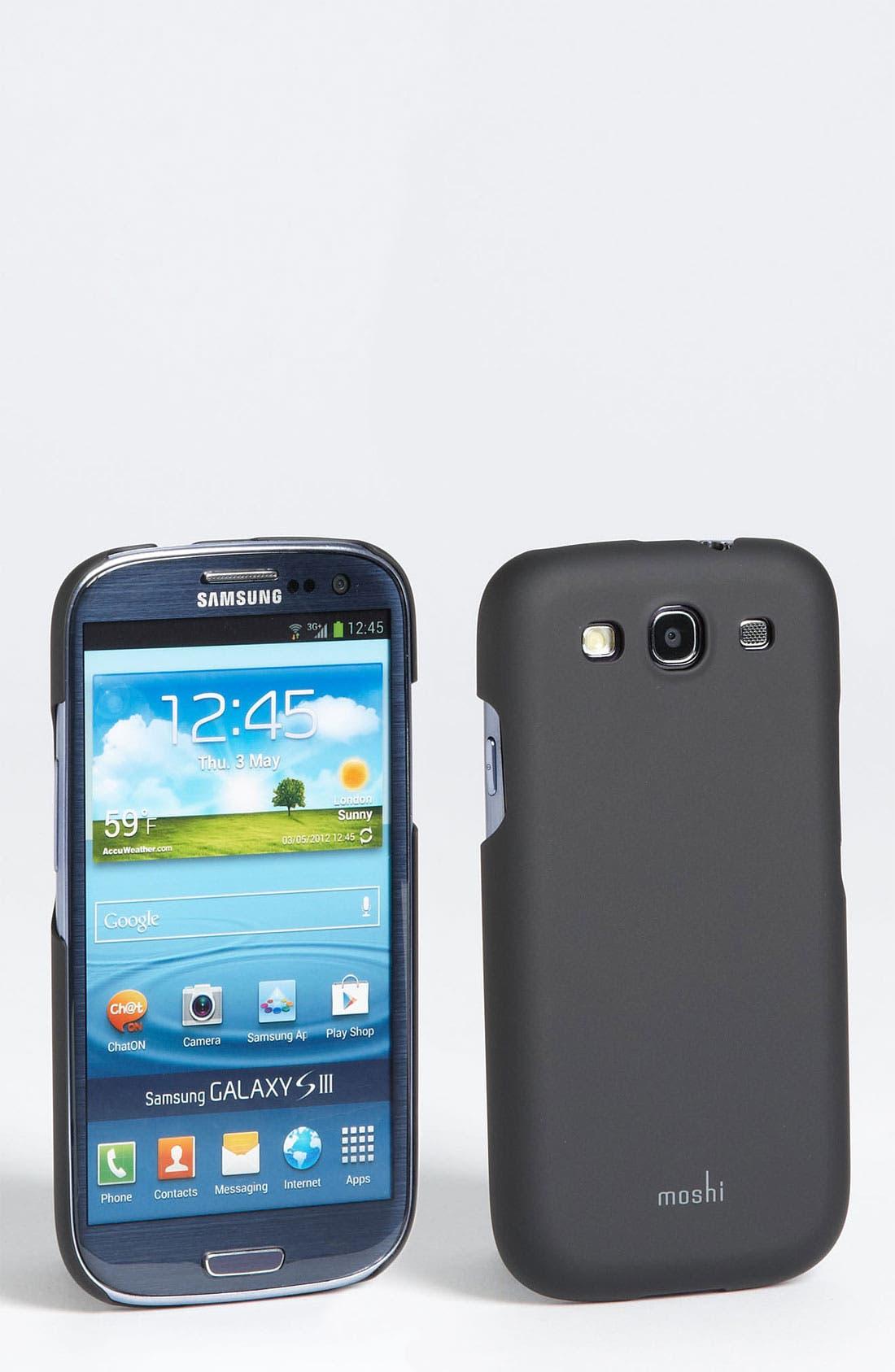 Alternate Image 1 Selected - Moshi 'iGlaze' Samsung Galaxy S® III Case