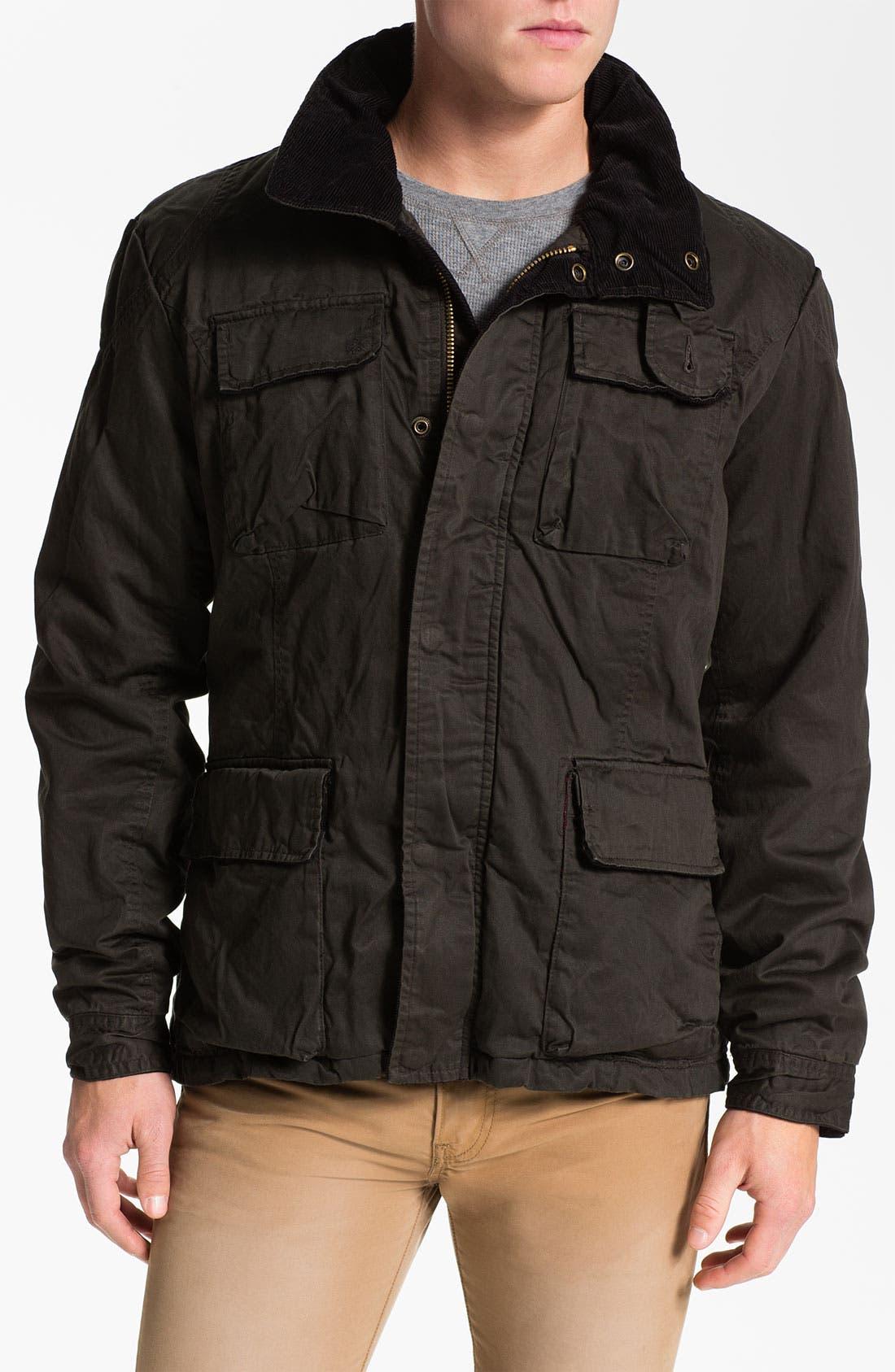 Alternate Image 1 Selected - Scotch & Soda Wax Cotton Field Jacket