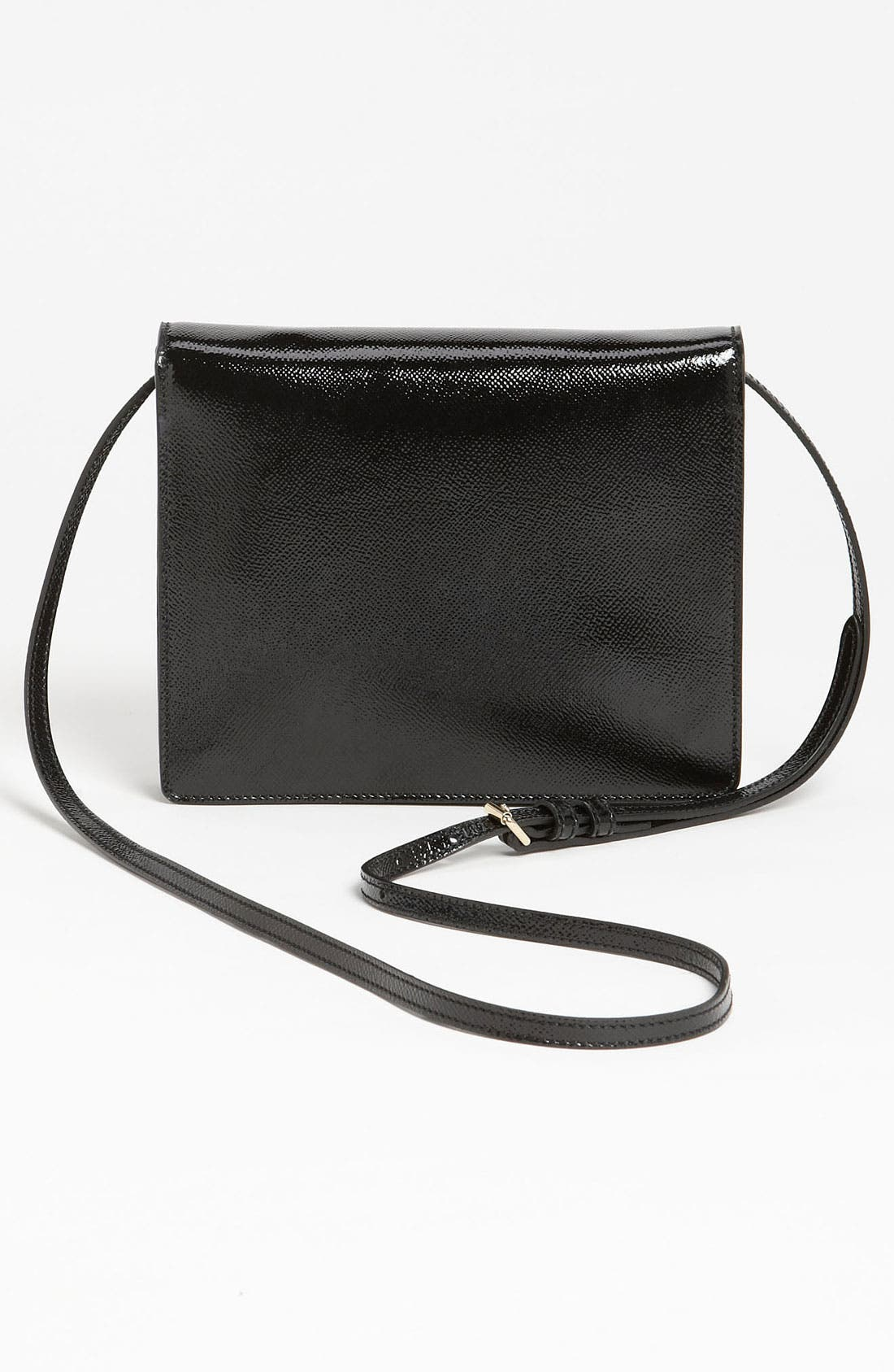 Alternate Image 4  - Burberry Patent Leather Crossbody Bag