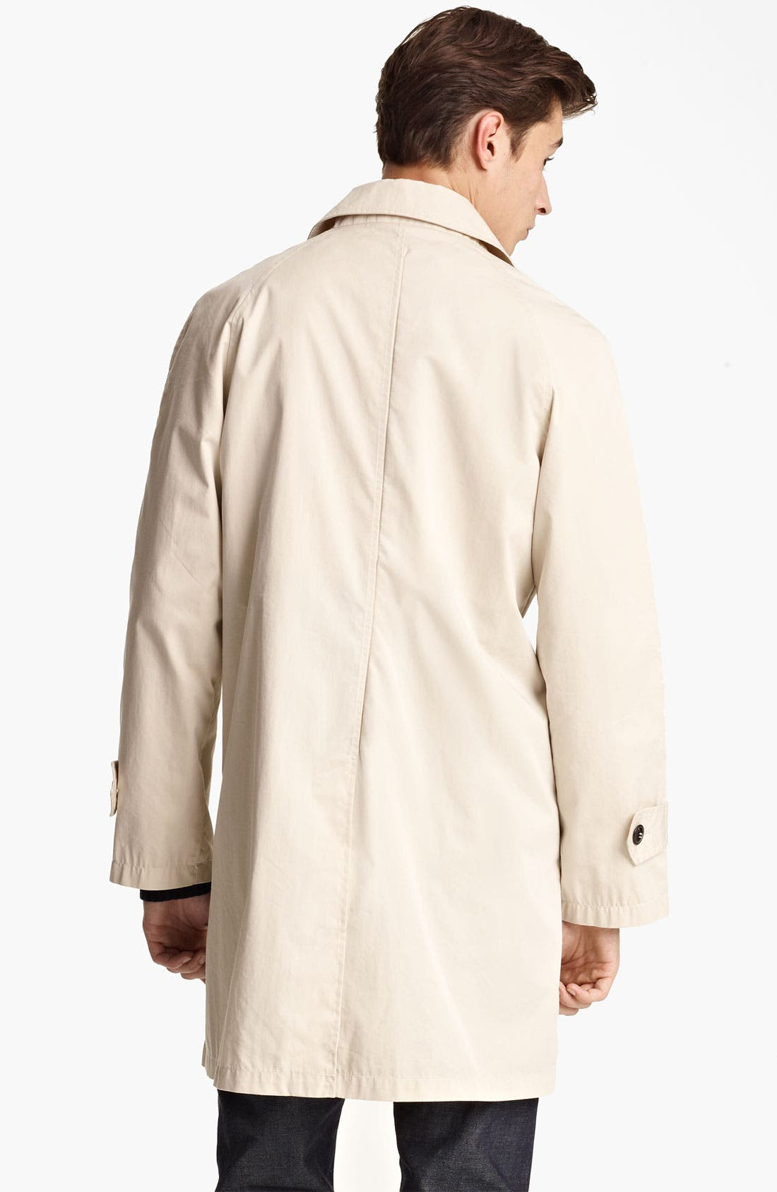 Alternate Image 2  - Grayers Single Breasted Trench Coat