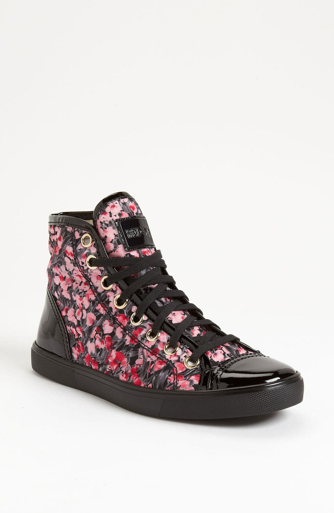 Alternate Image 1 Selected - RED Valentino High Top Sneaker