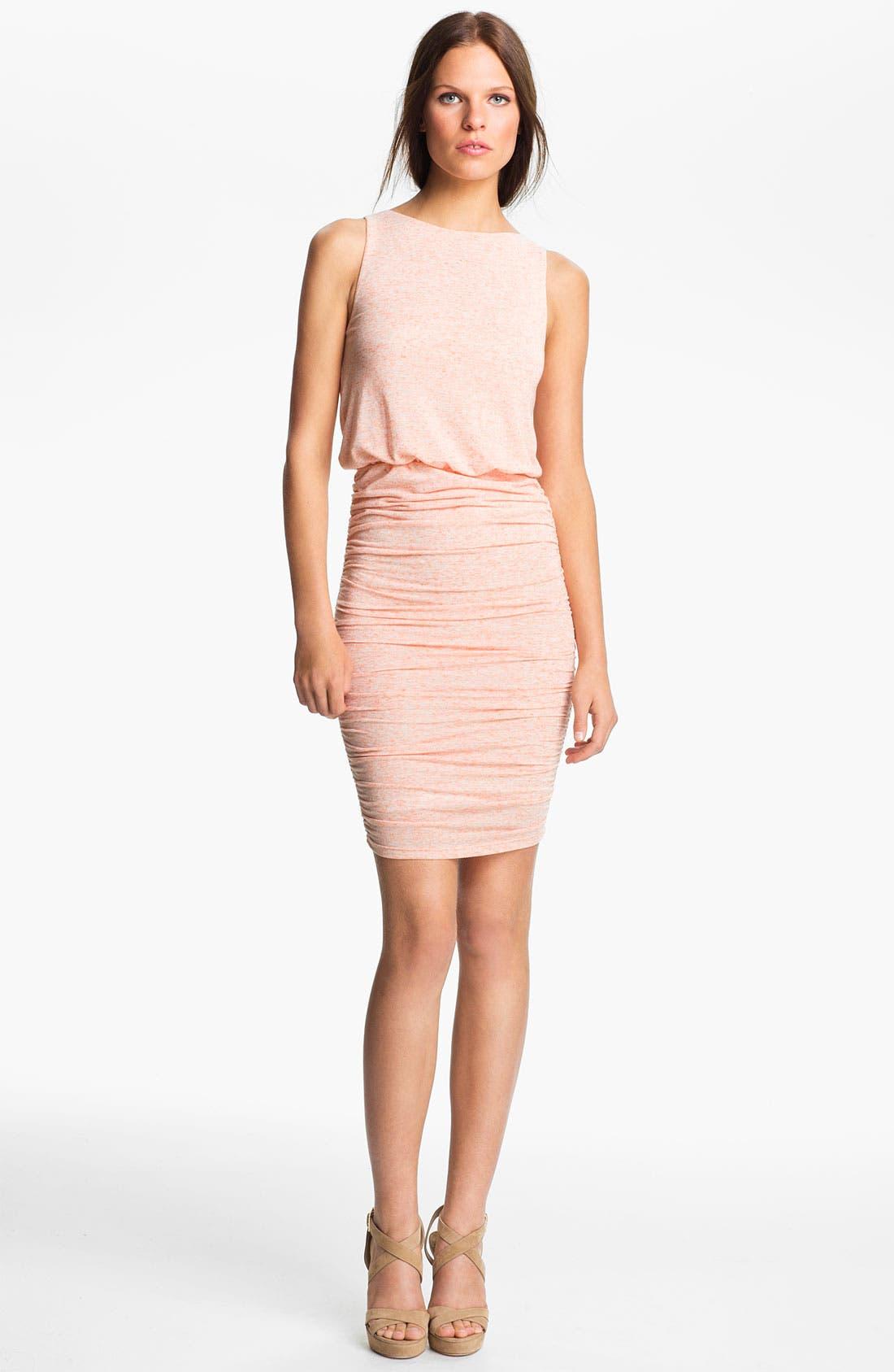 Alternate Image 1 Selected - Alice + Olivia Ruched Dress