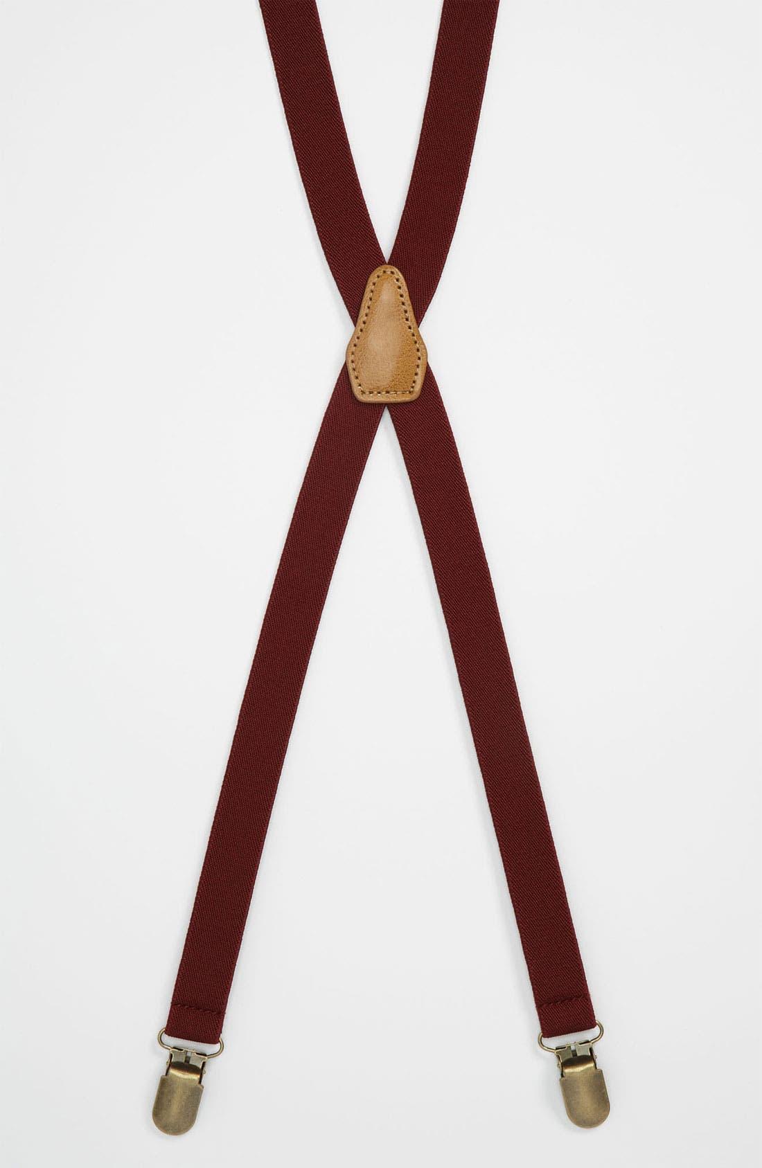 Alternate Image 1 Selected - Topman Suspenders
