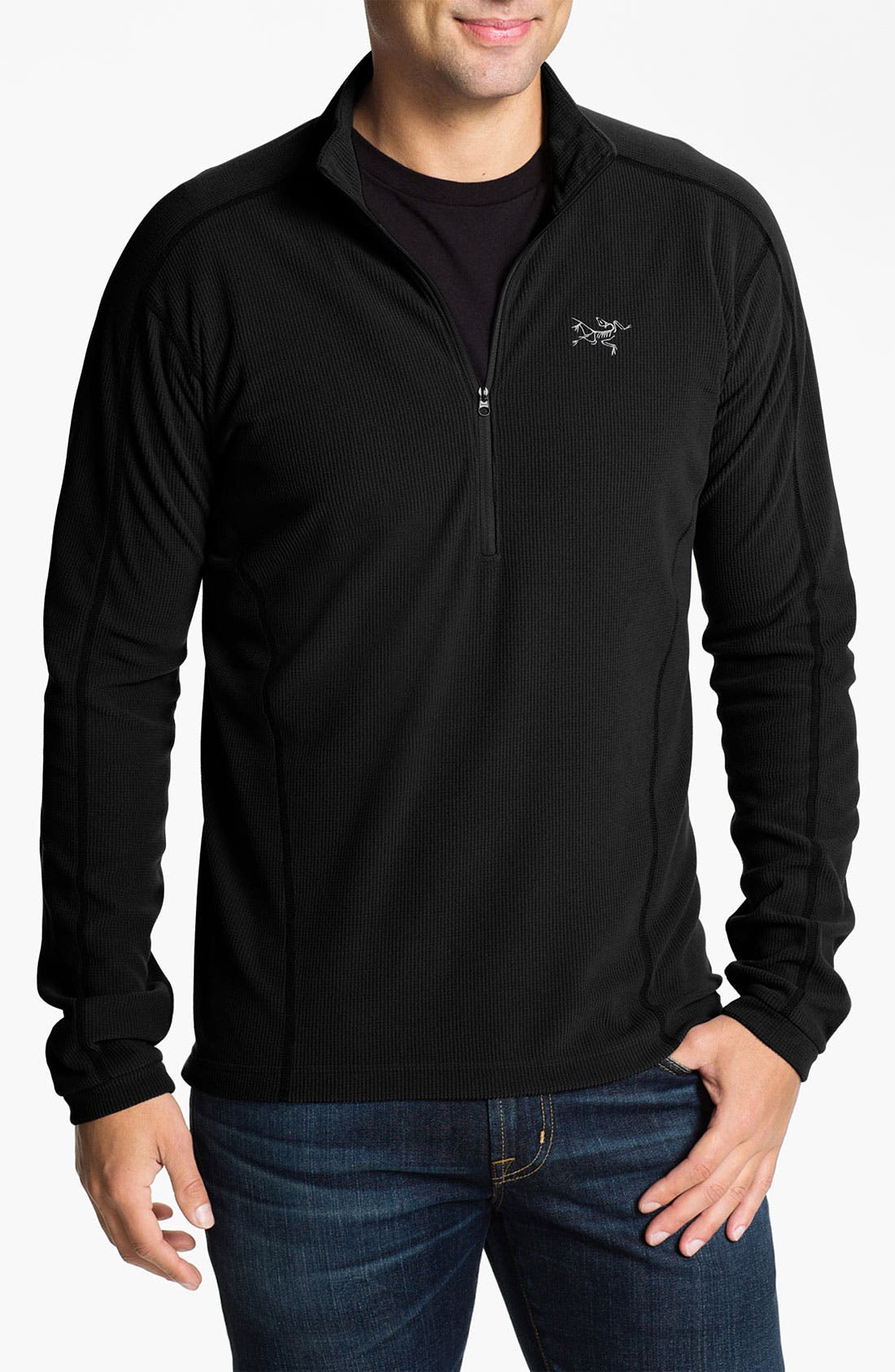 Alternate Image 1 Selected - Arc'teryx 'Delta LT' Half Zip Sweatshirt