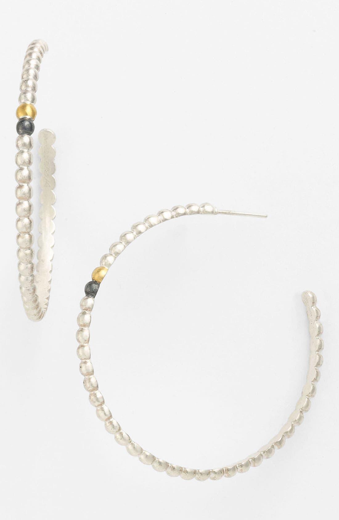 Alternate Image 1 Selected - Gurhan 'Couscous' Large Hoop Earrings