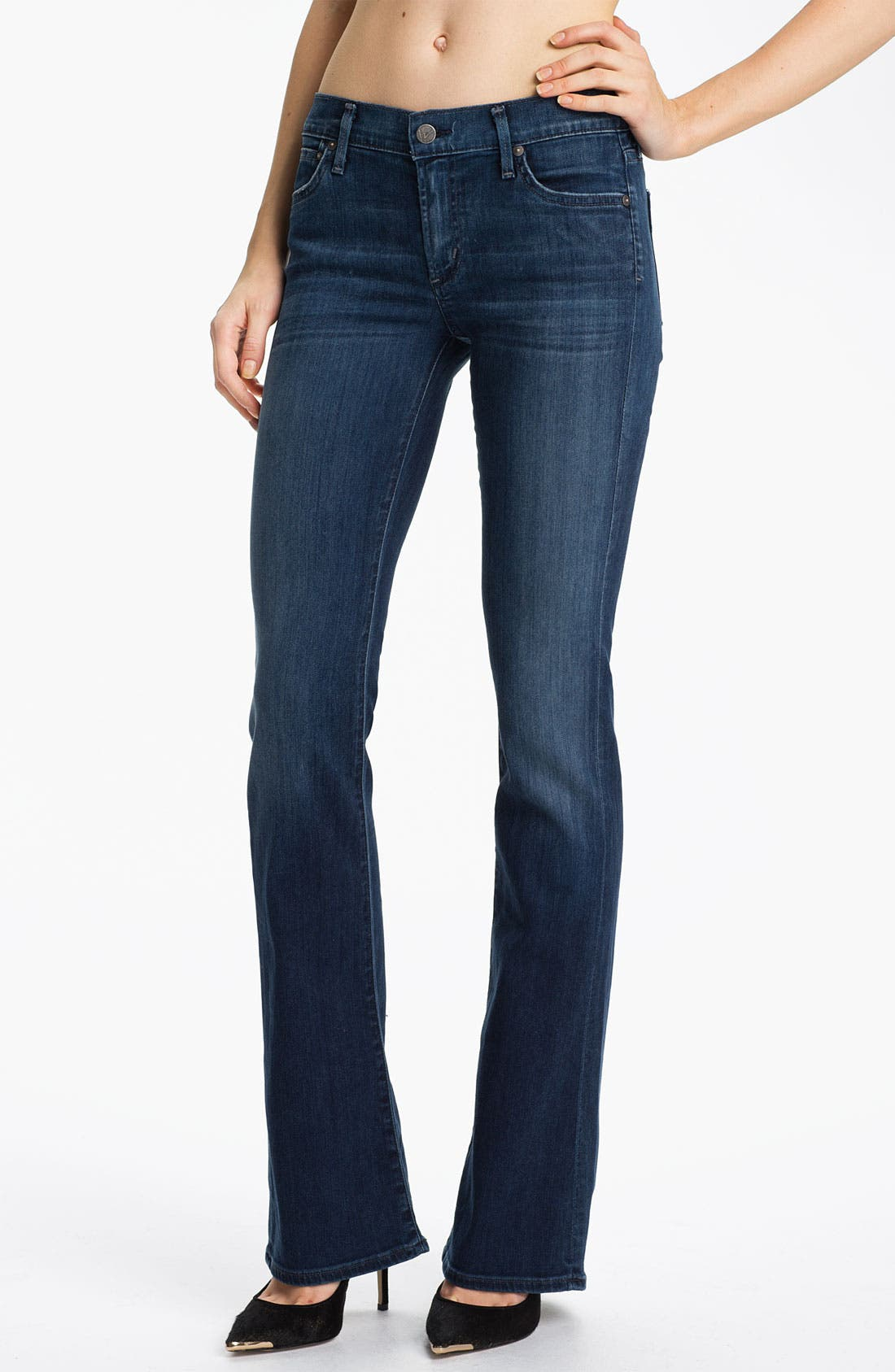 Alternate Image 1  - Citizens of Humanity 'Emmanuelle' Slim Bootcut Jeans (Secret)