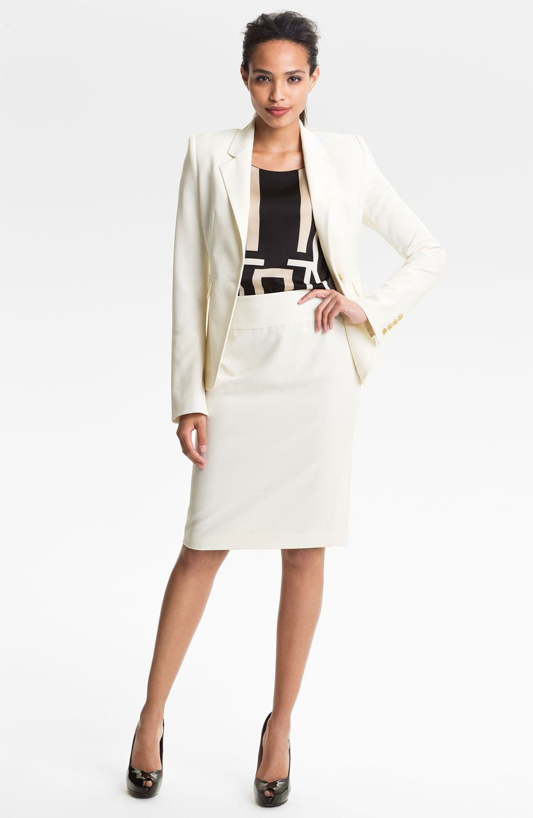 Alternate Image 4  - Vince Camuto Pencil Skirt