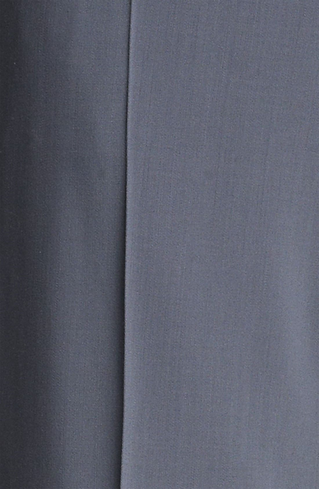 Alternate Image 5  - Armani Collezioni Stretch Wool Pants