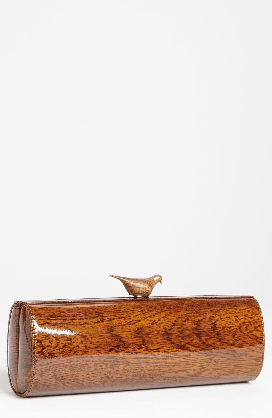 Alternate Image 1 Selected - kate spade new york 'knock on wood - woodpecker' clutch