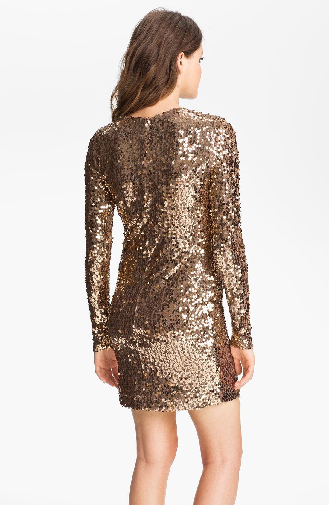 Alternate Image 2  - French Connection Sequin Sheath Minidress