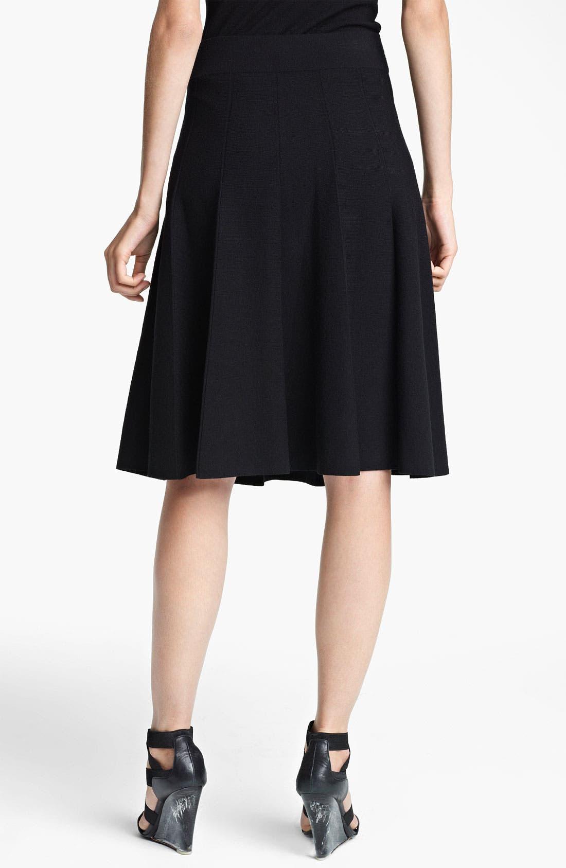 Alternate Image 2  - Donna Karan Collection Flared Jersey Skirt