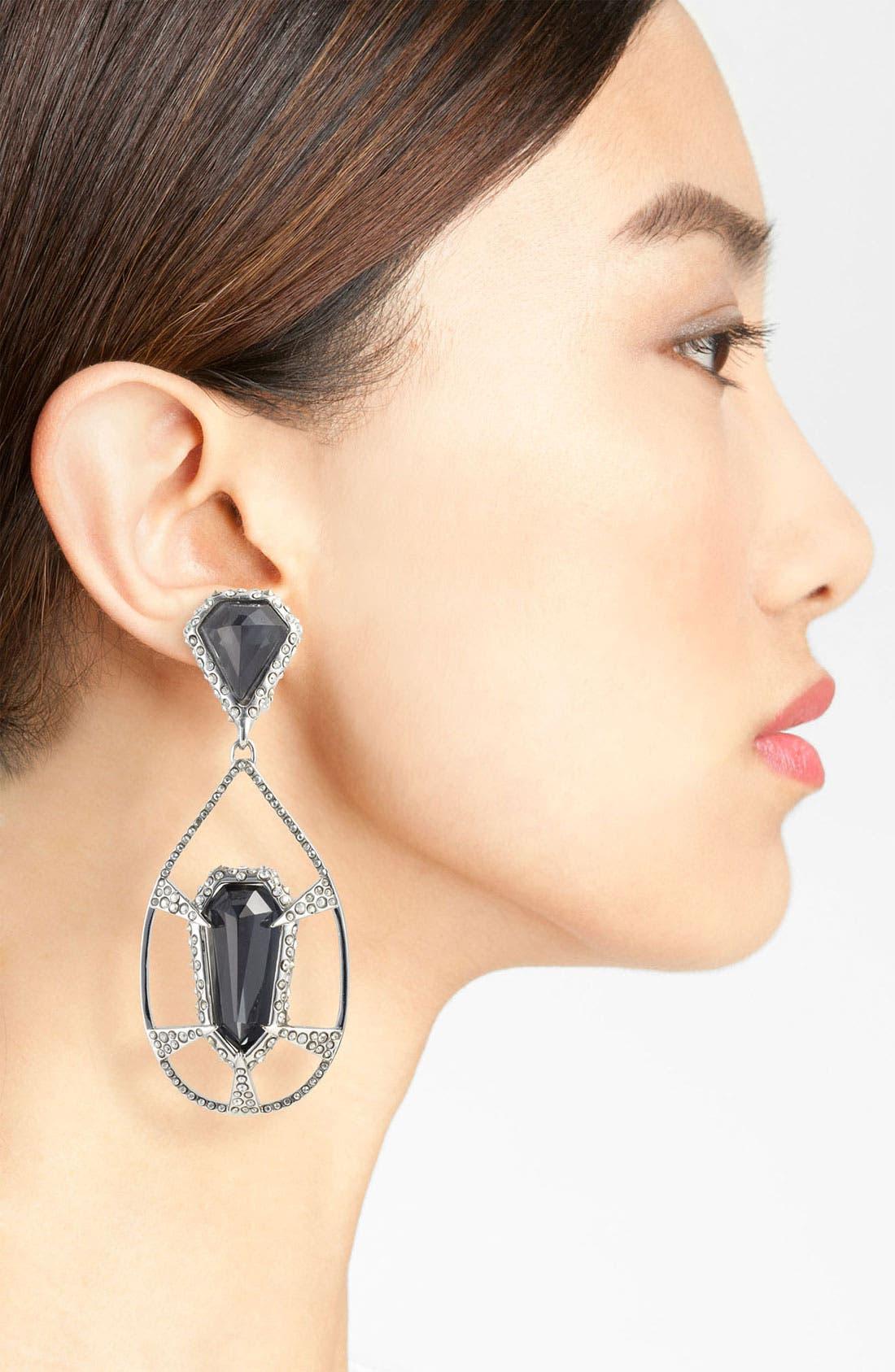 Alternate Image 2  - Alexis Bittar 'Miss Havisham - Delano' Teardrop Clip Earrings