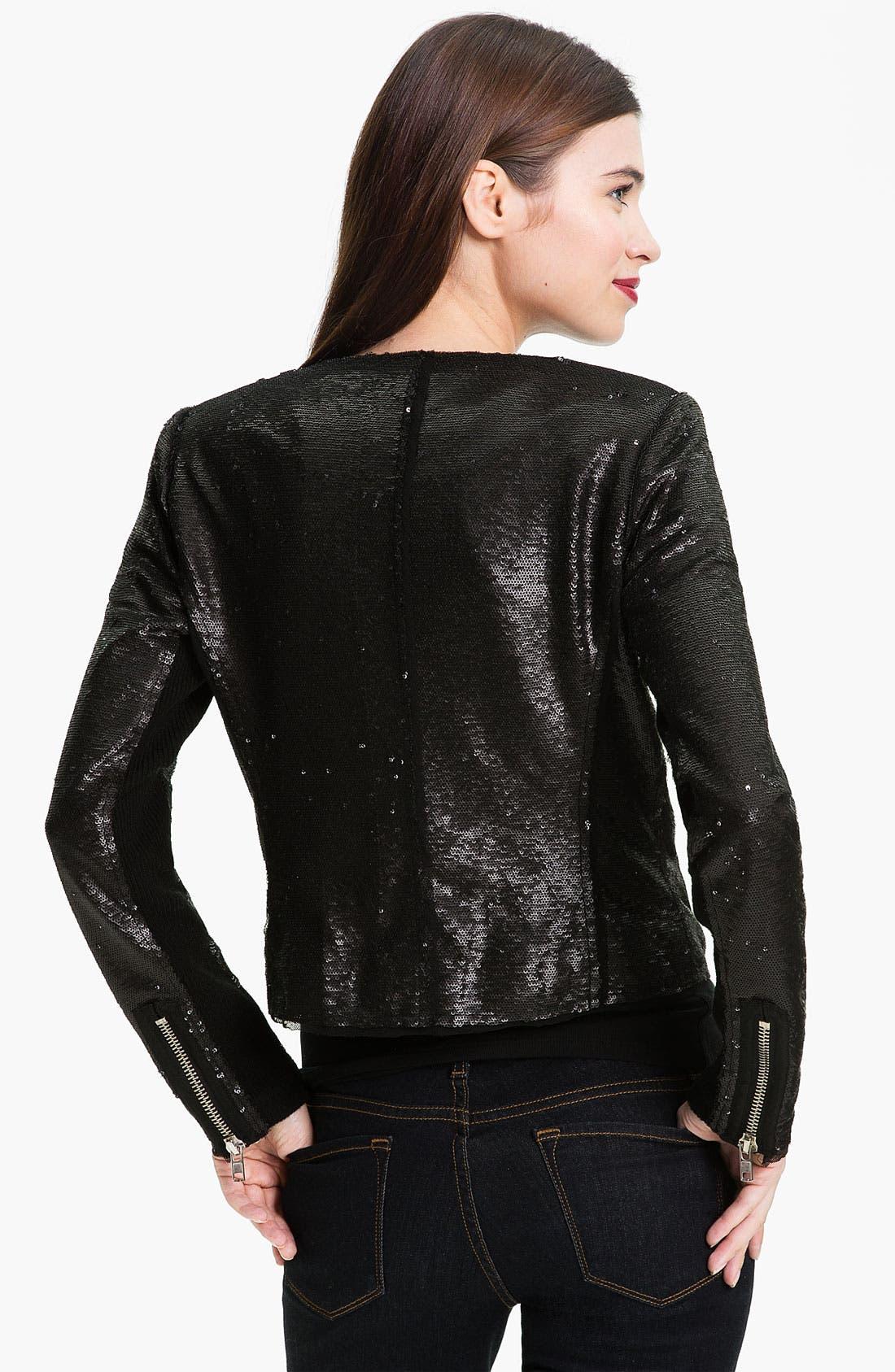 Alternate Image 2  - Rebecca Taylor Sequin Jacket