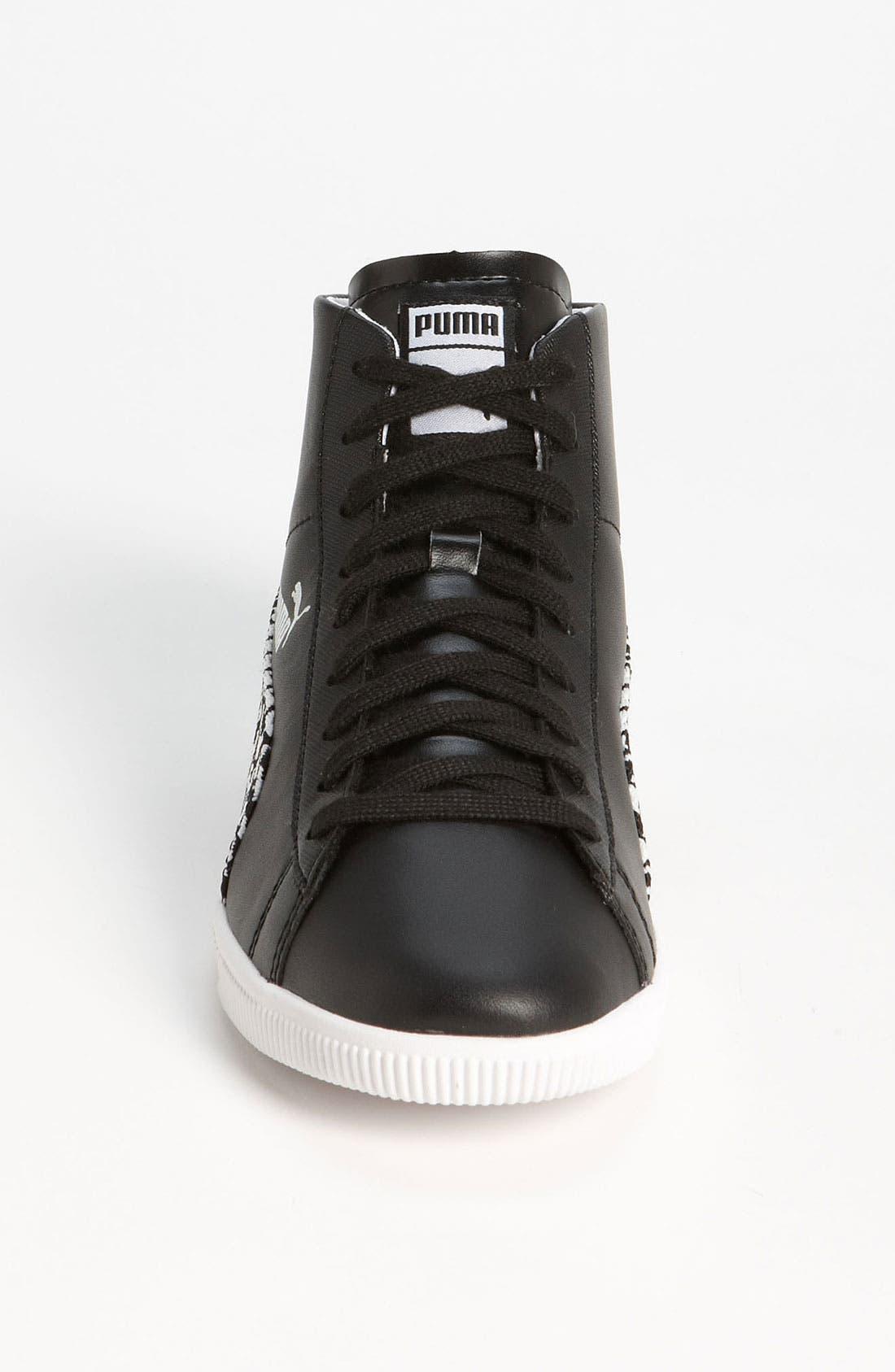 Alternate Image 3  - PUMA 'Glyde Herringbone Mid' Sneaker (Women)