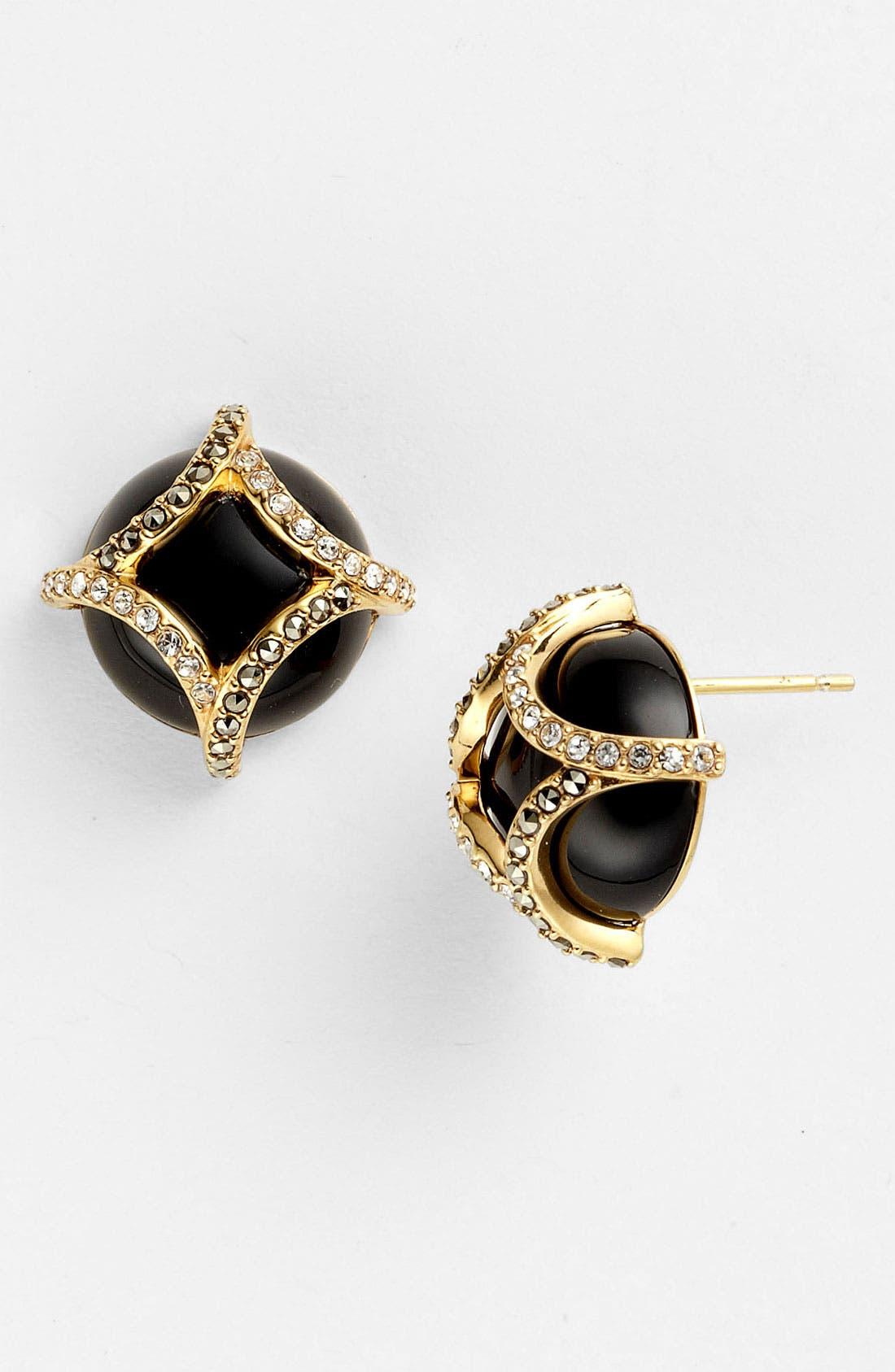 Alternate Image 1 Selected - Judith Jack 'Matrix' Stud Earrings