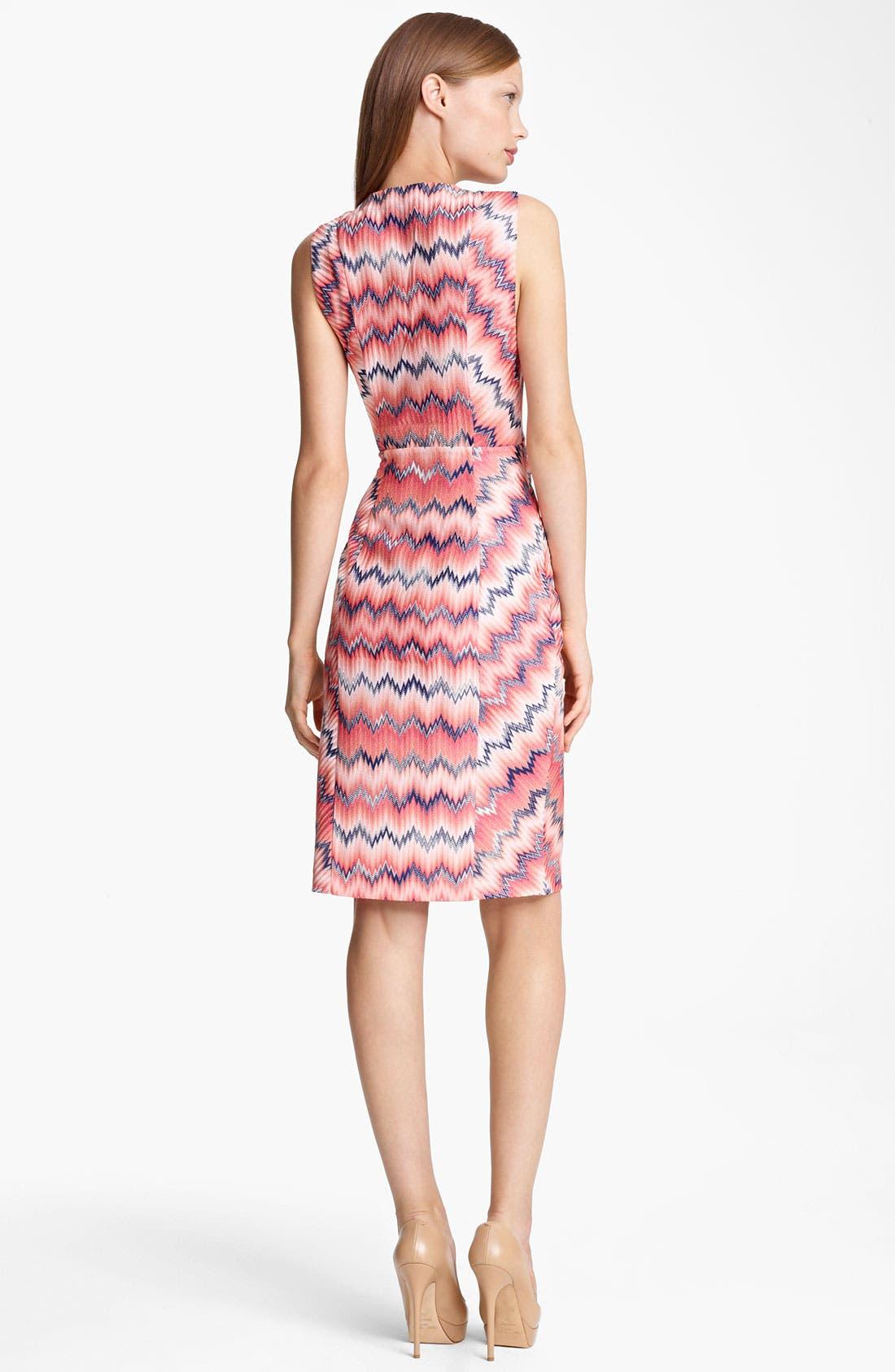 Alternate Image 2  - Missoni Zigzag Faux Wrap Dress