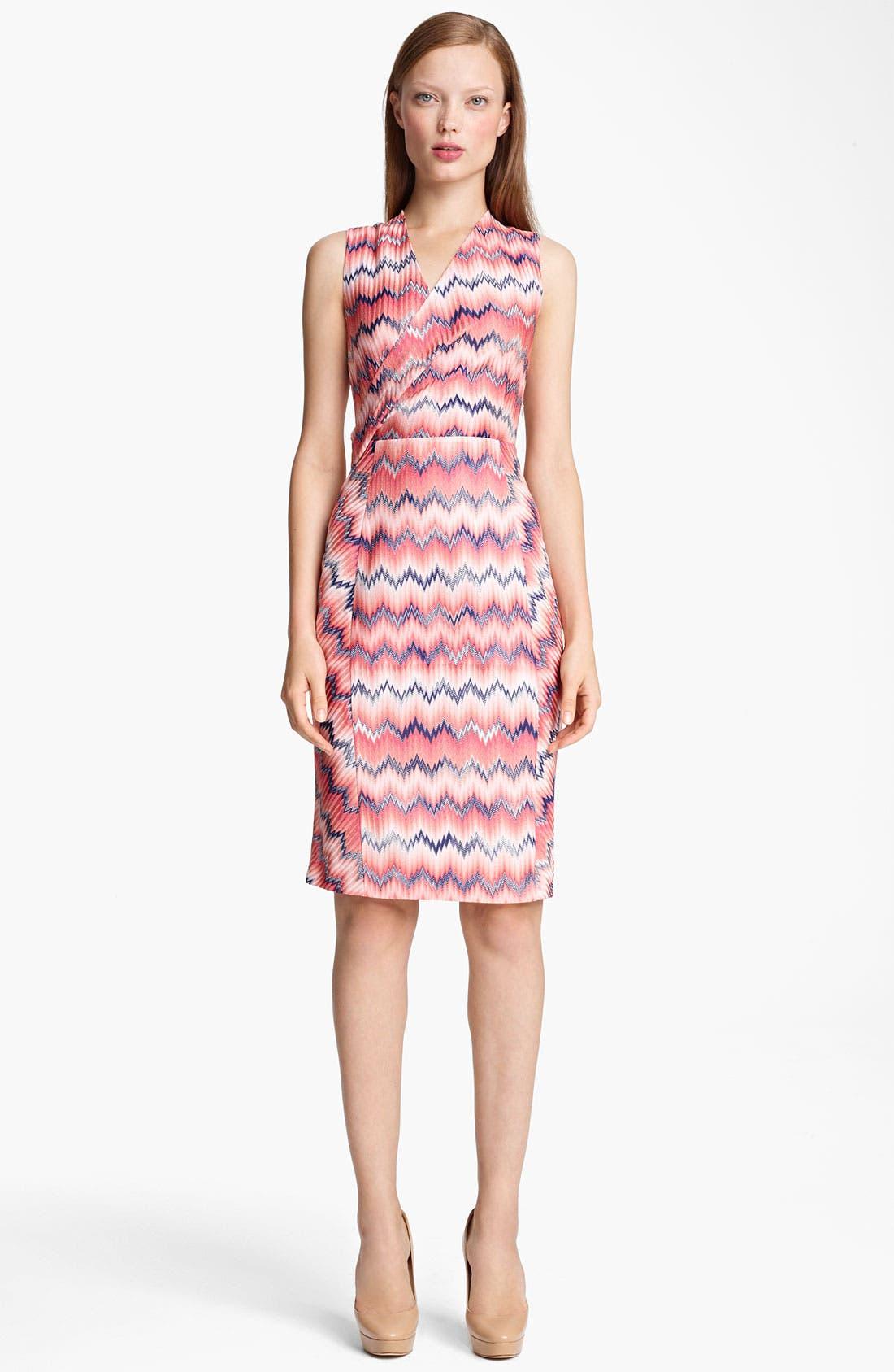 Main Image - Missoni Zigzag Faux Wrap Dress