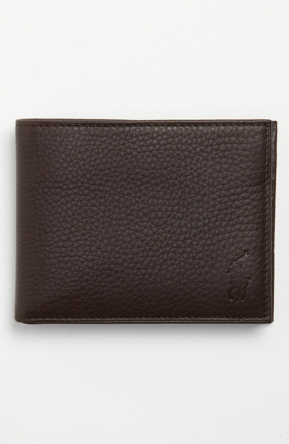 Alternate Image 1 Selected - Polo Ralph Lauren Leather Passcase Wallet