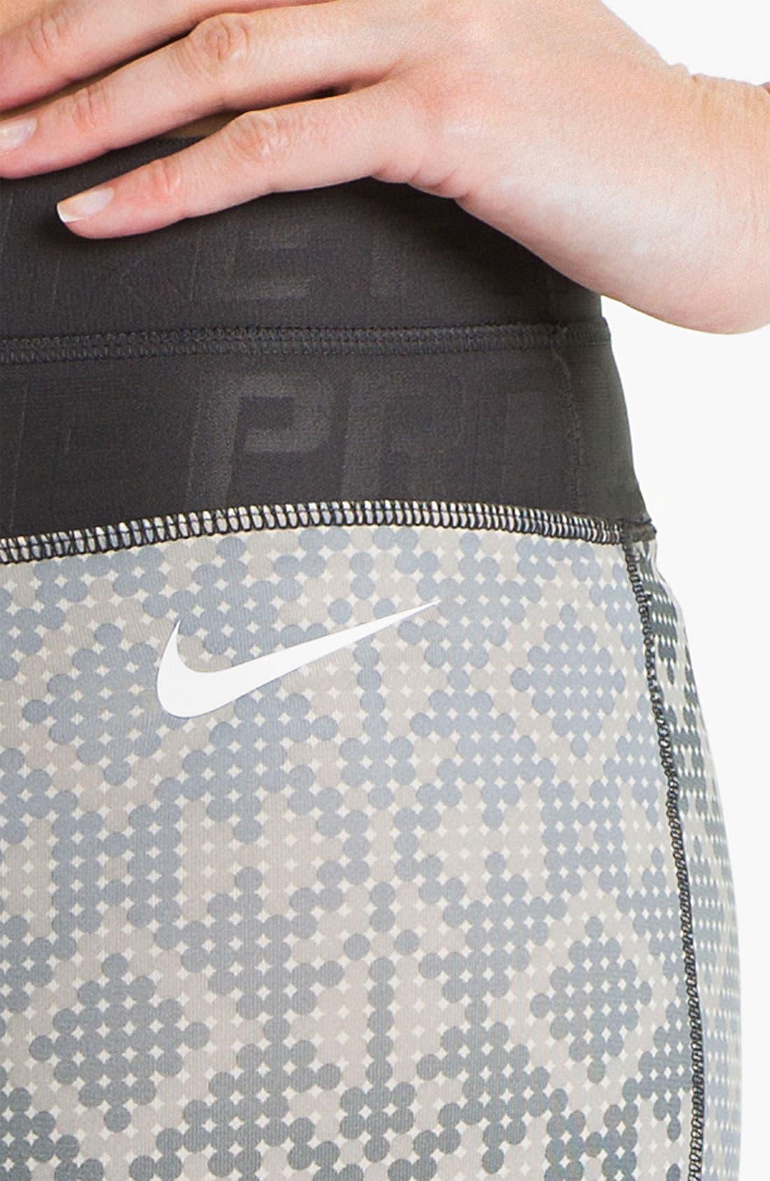 Alternate Image 3  - Nike 'Pro Hyperwarm' Print Tights