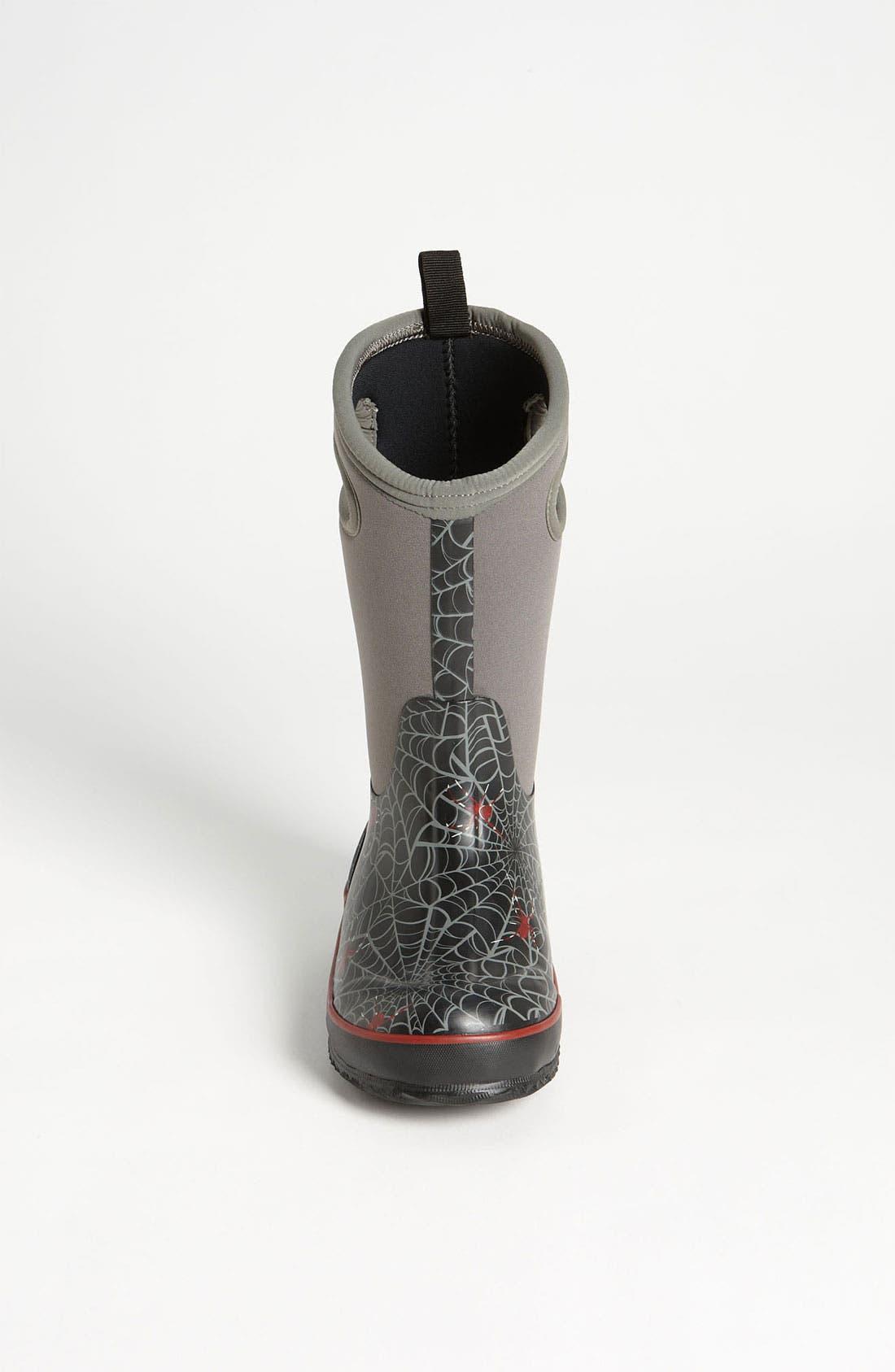 Alternate Image 3  - Bogs 'Classic High - Spiders' Waterproof Boot (Toddler, Little Kid, & Big Kid)