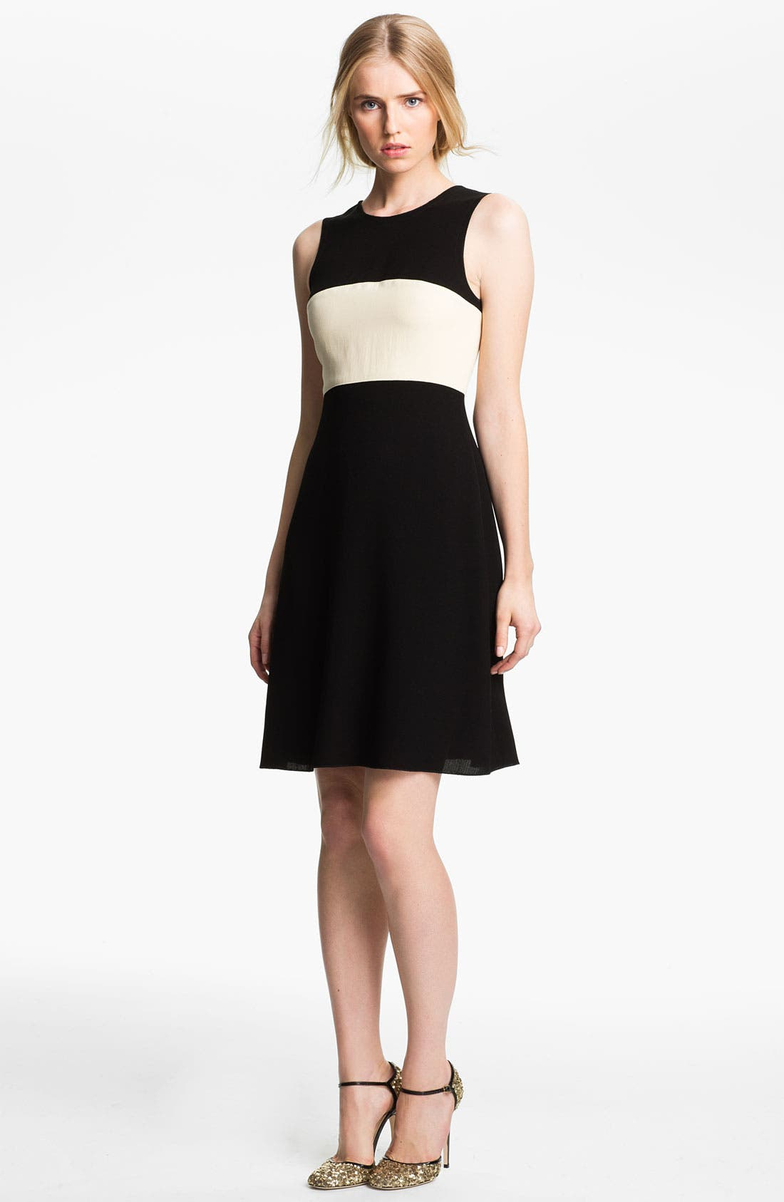 Main Image - L'AGENCE Colorblock Dress