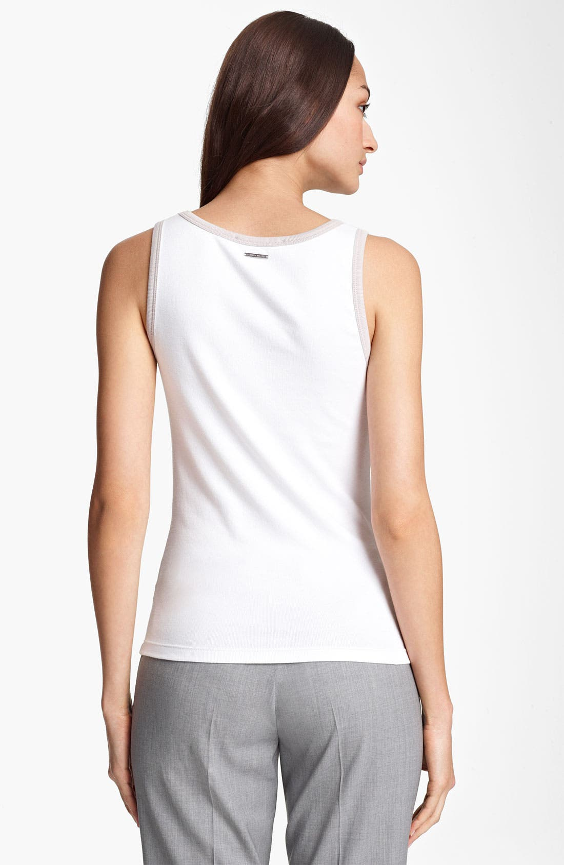 Alternate Image 2  - Fabiana Filippi Ribbed Tank