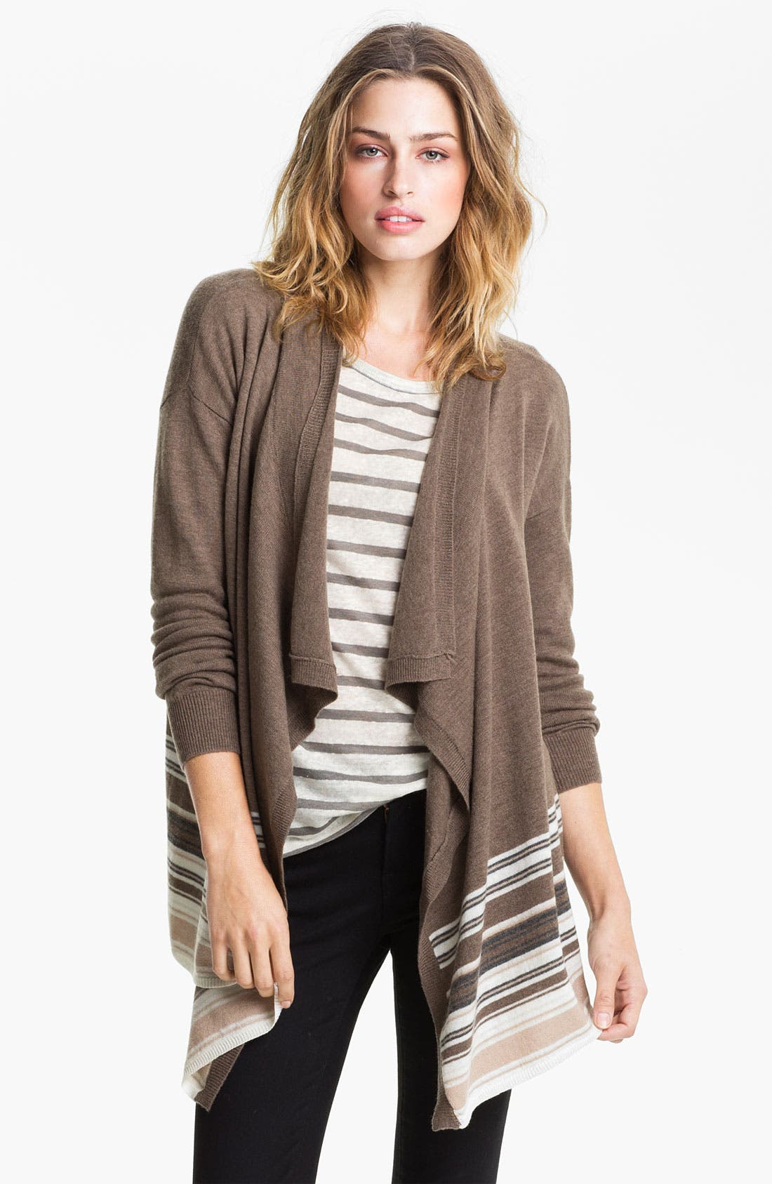 Alternate Image 1 Selected - Joie 'Cherie' Drape Cardigan