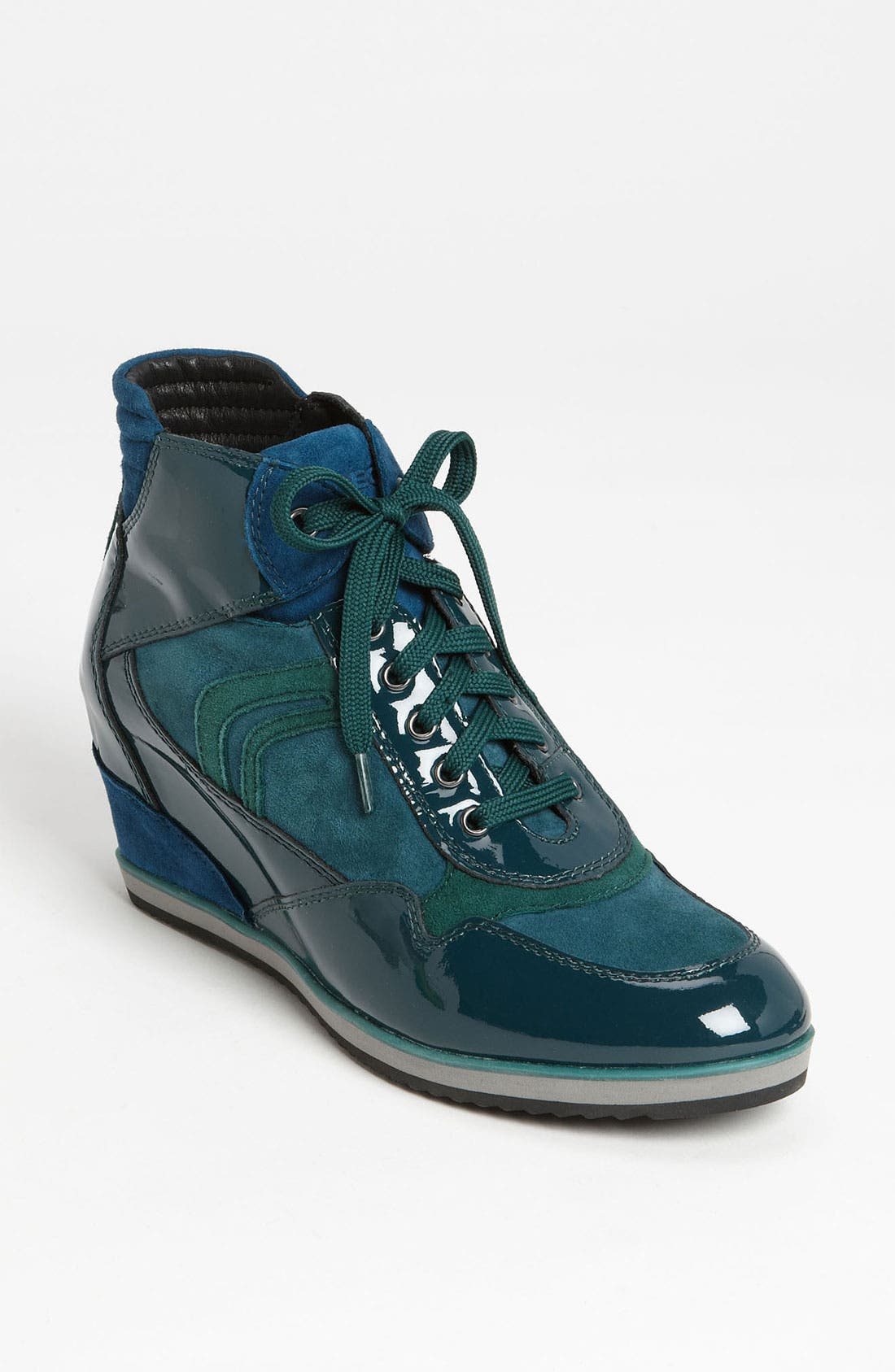 Main Image - Geox 'D Illusion' High Top Wedge Sneaker