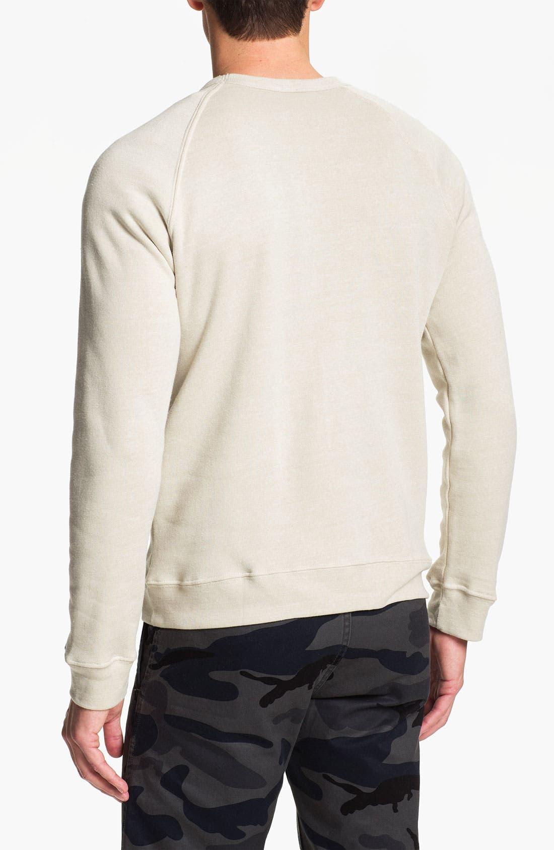 Alternate Image 2  - Obey 'Trademark Eagle' Crewneck Sweatshirt