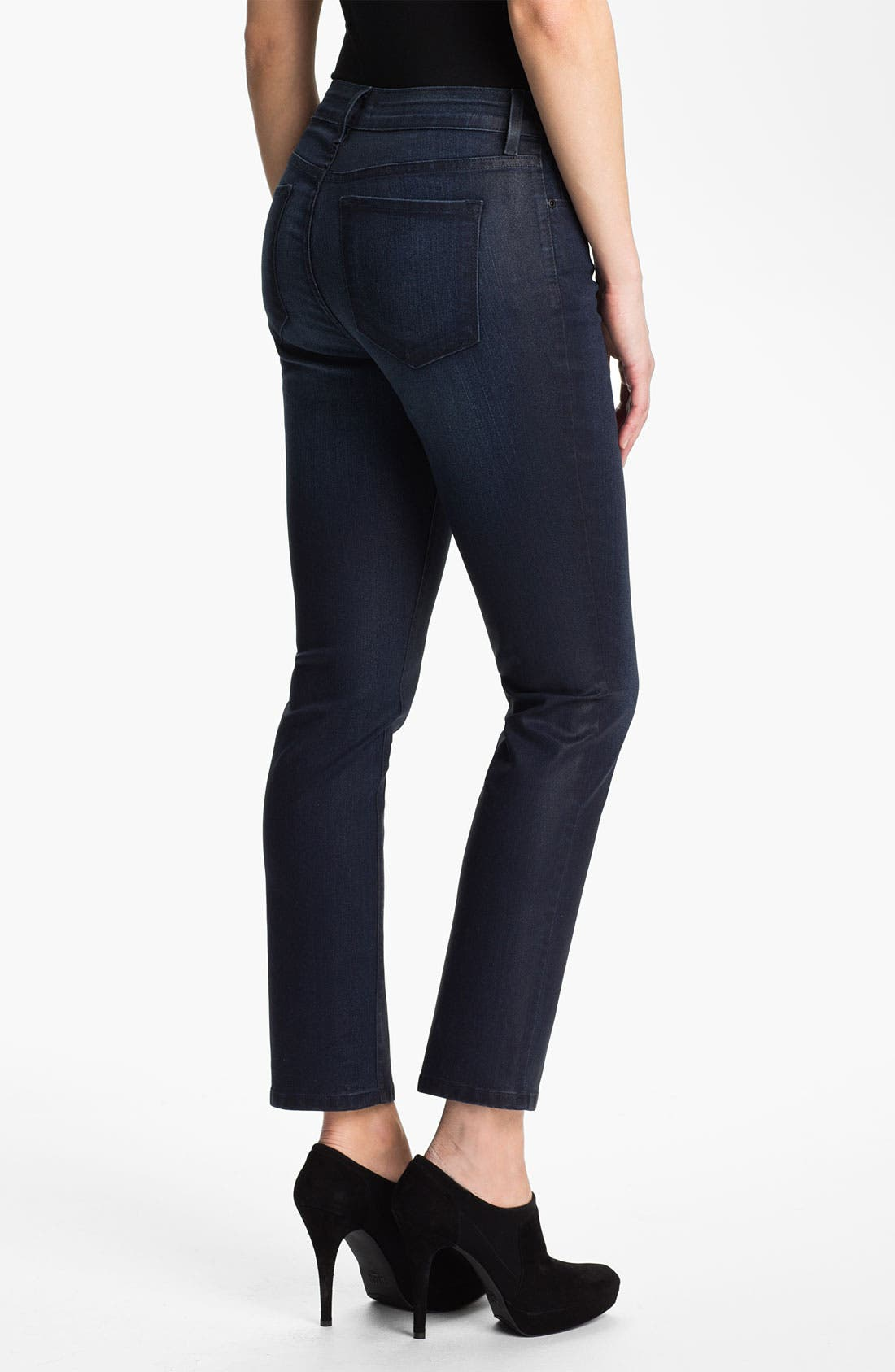 Alternate Image 2  - NYDJ 'Sheri' Skinny Jeans (Petite)