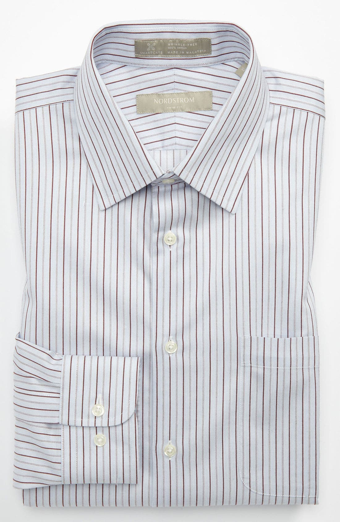 Alternate Image 1 Selected - Nordstrom Smartcare™ Trim Fit Dress Shirt